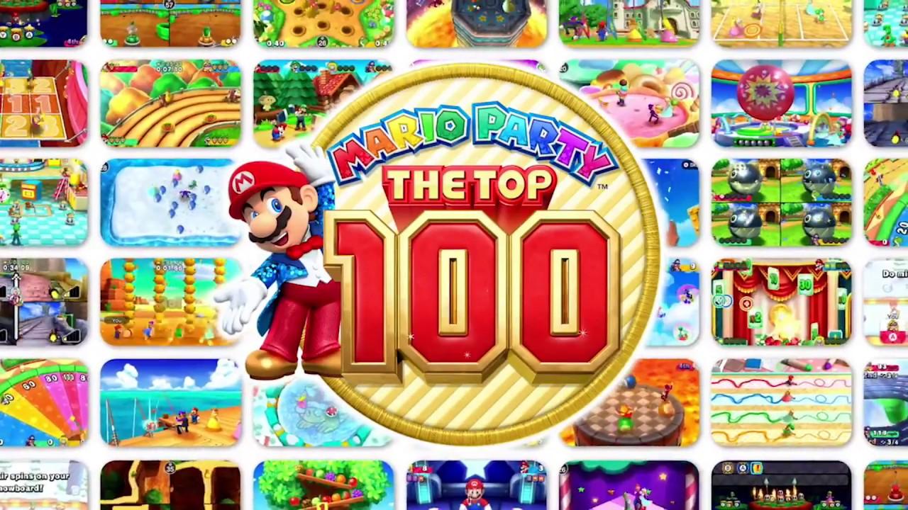 mario party the top 100 art