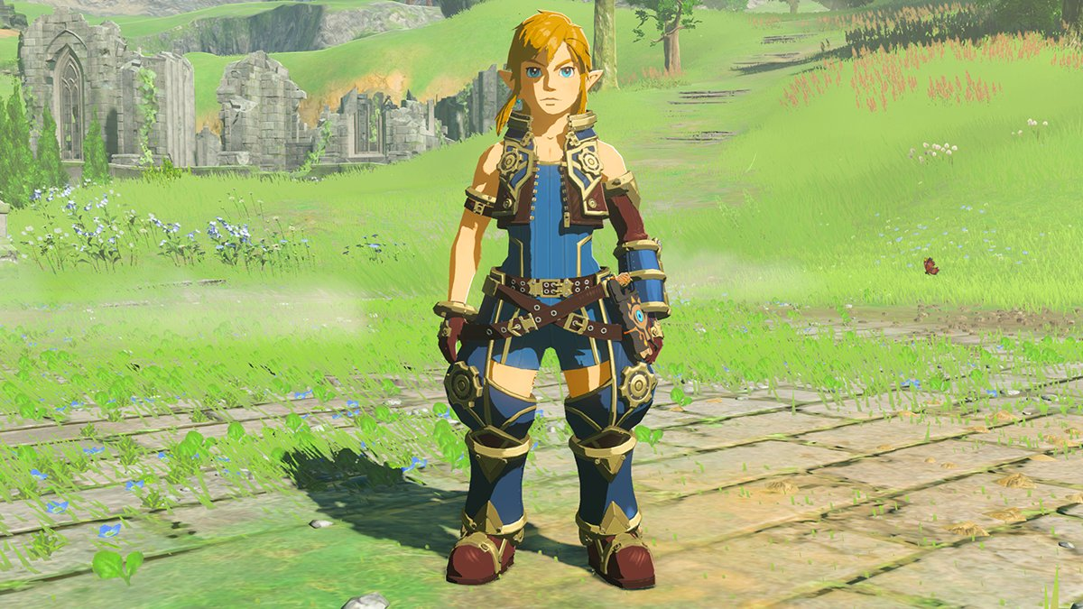 How to find Breath of the Wild's Xenoblade 2 armor