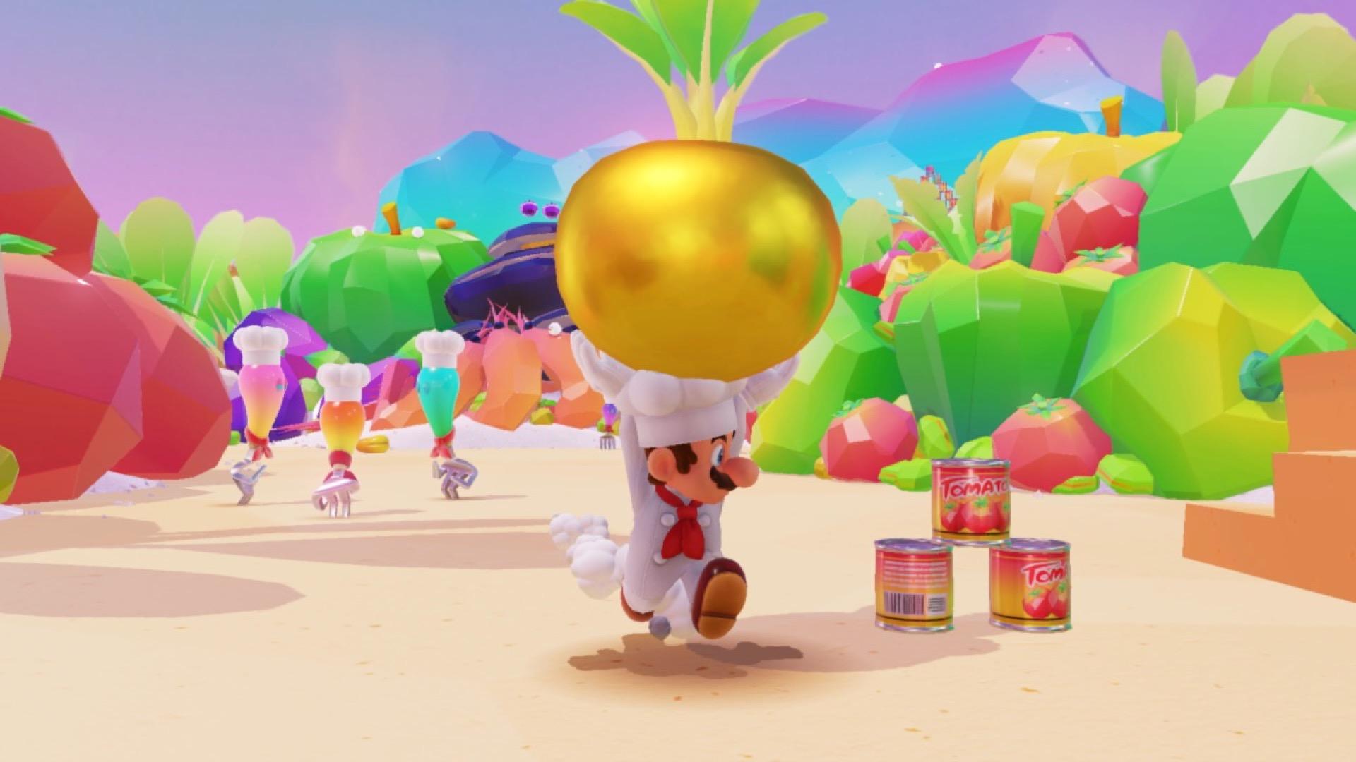 Super Mario Odyssey guide  Luncheon Kingdom all power moon locations ... 49273858ae70
