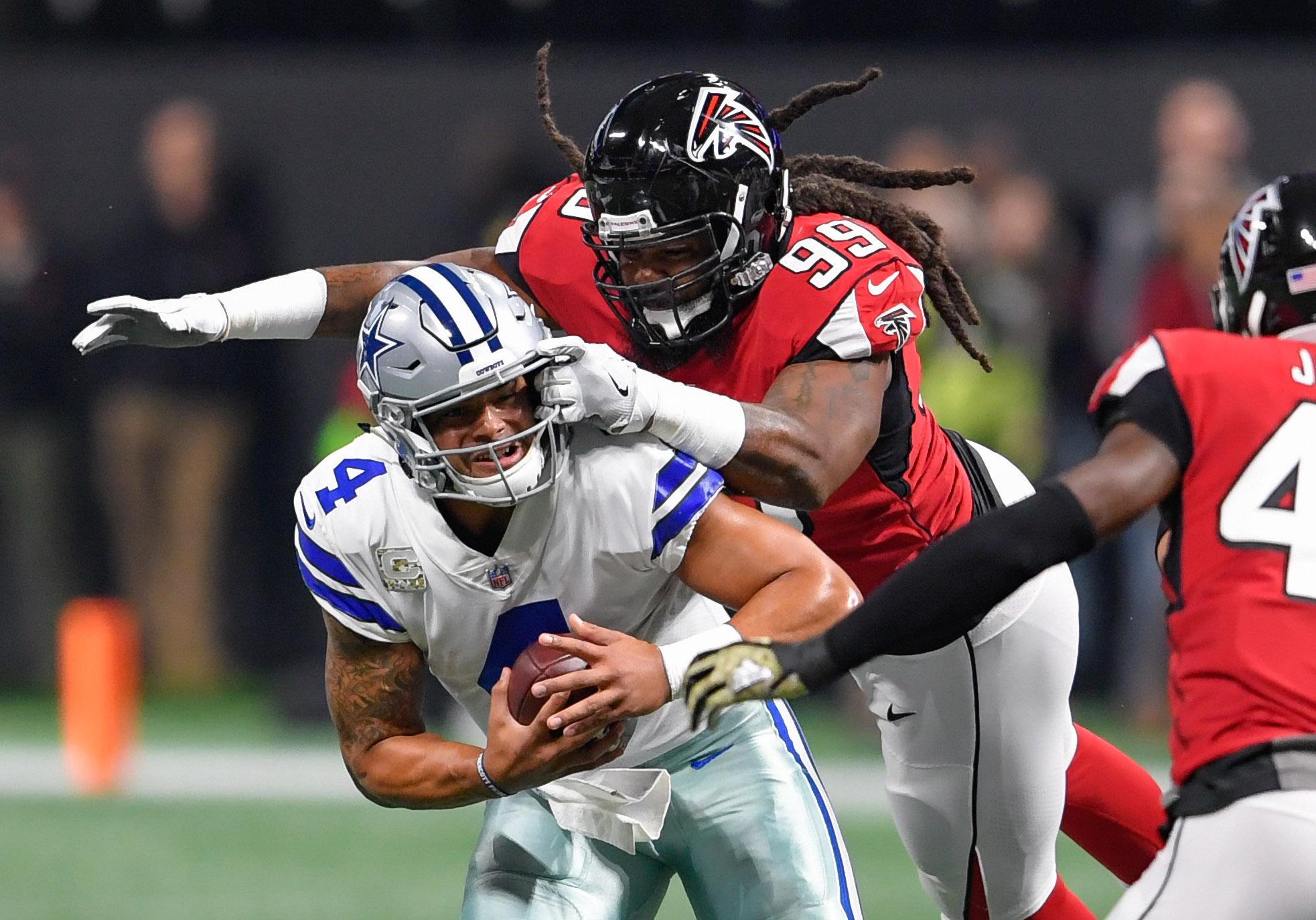 NFL: Dallas Cowboys at Atlanta Falcons