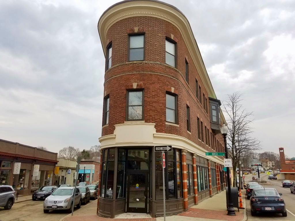 The future home of Distraction Brewing Company (2 Belgrade Ave., Roslindale)