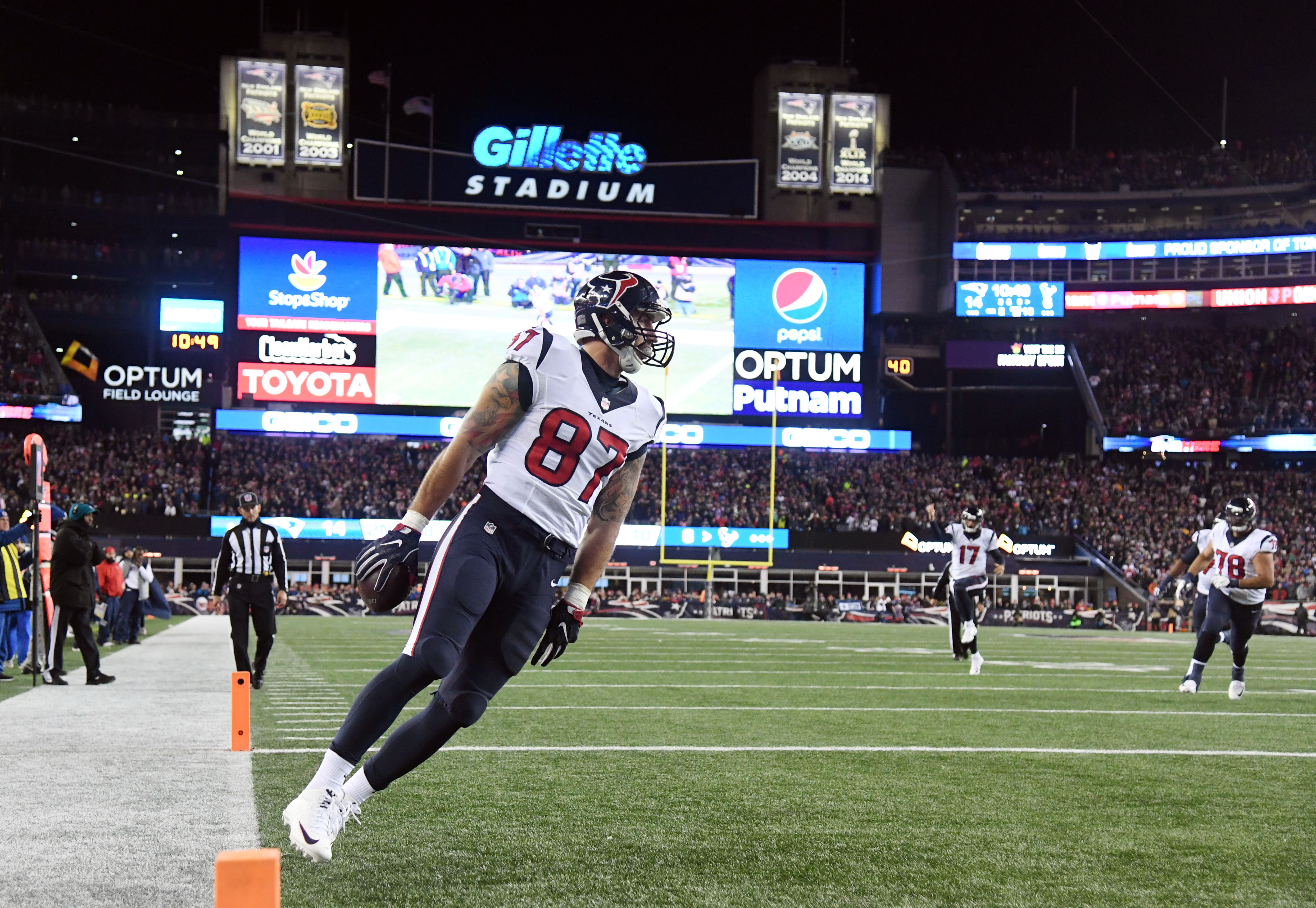 NFL: AFC Divisional-Houston Texans at New England Patriots