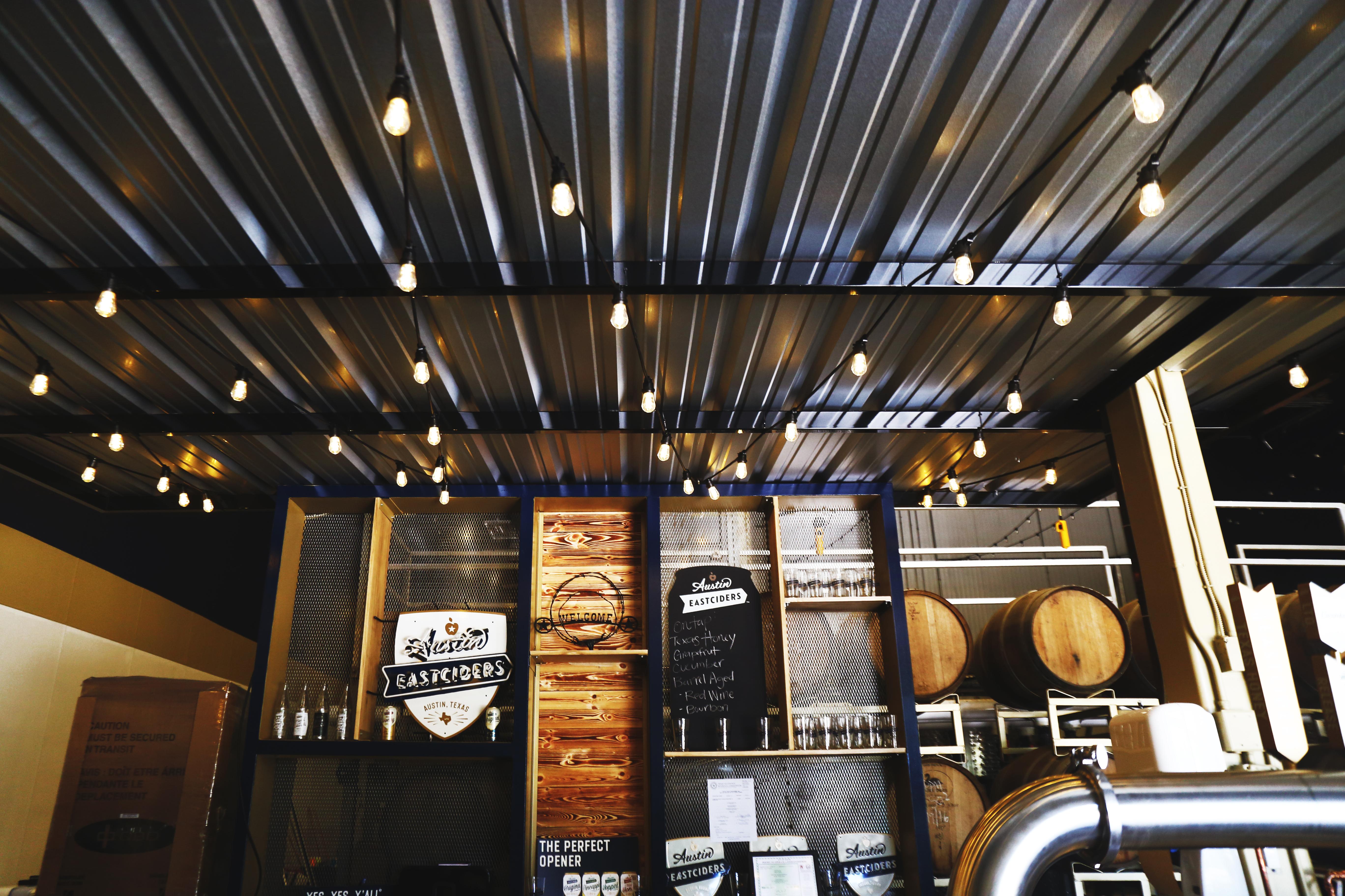 Austin Eastciders' tasting room