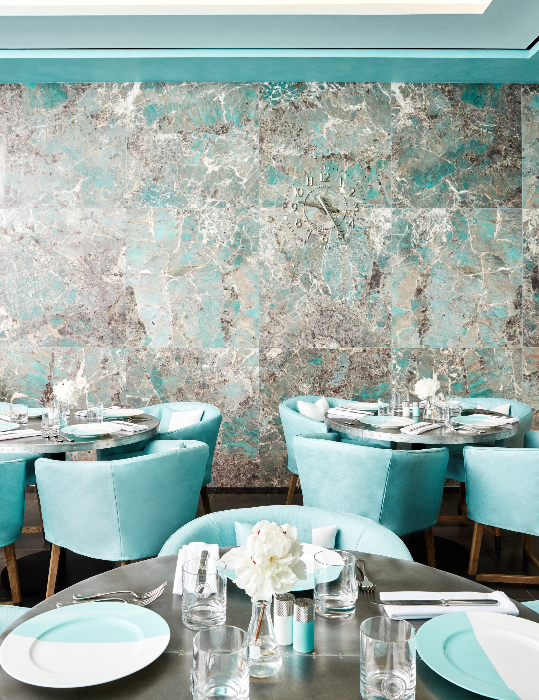 Tiffany's New Cafe Commanded Two-Hour Waits on Friday