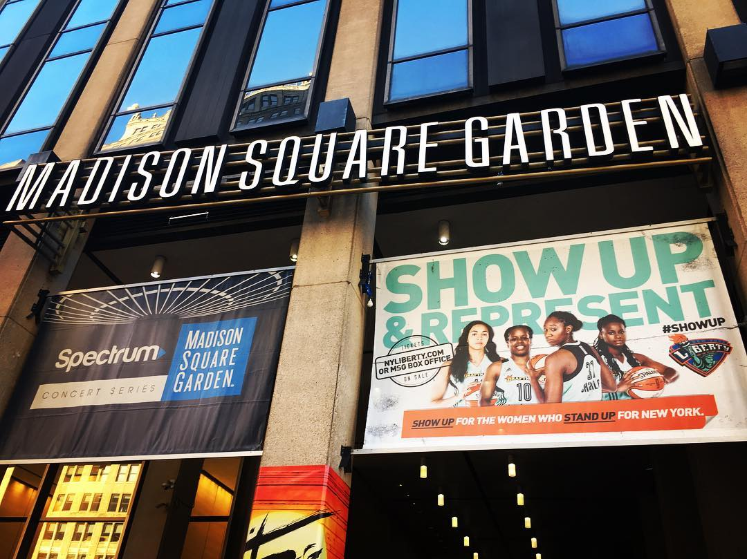 Madison Square Garden, New York Liberty