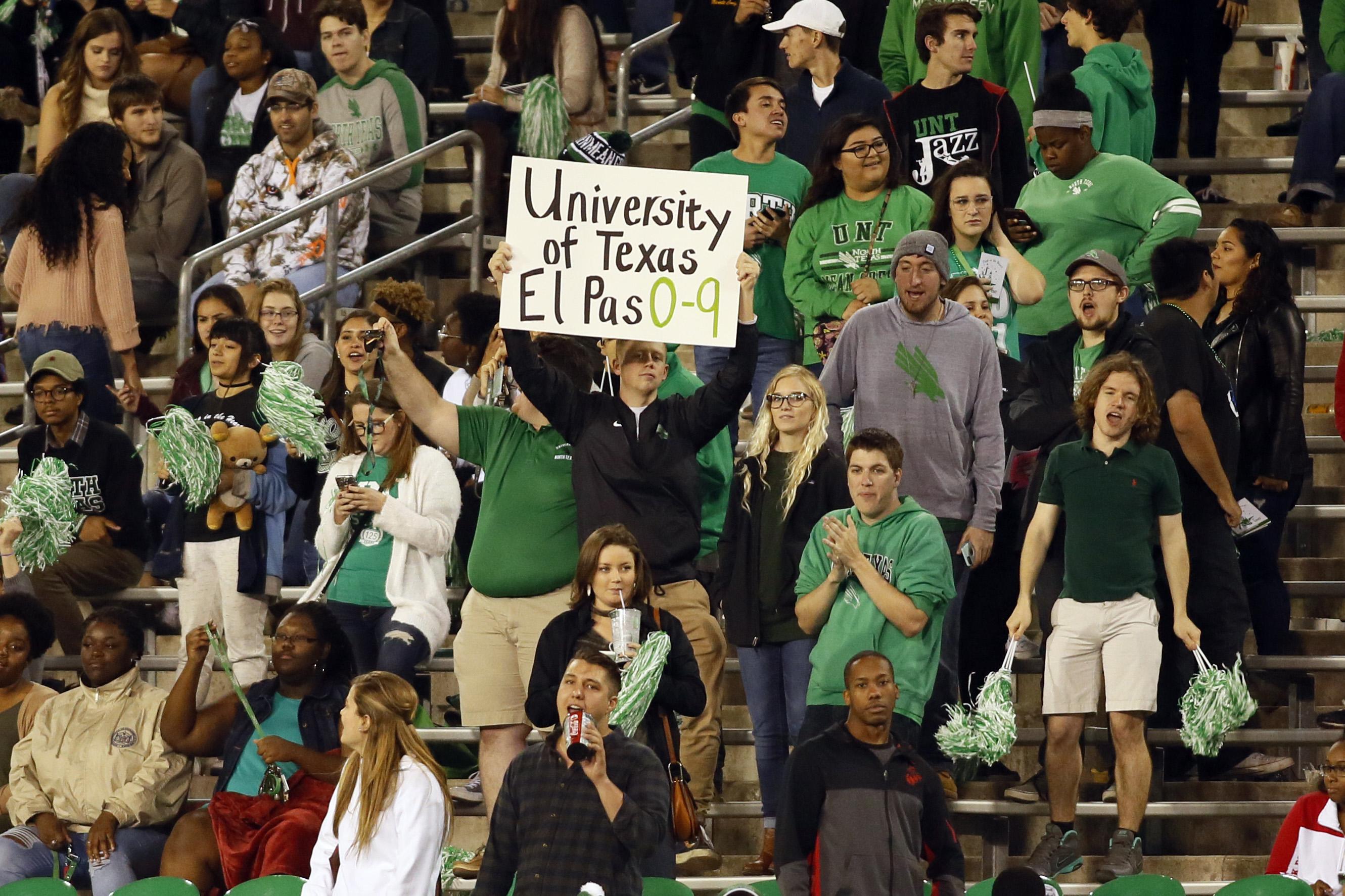 NCAA Football: Texas El Paso at North Texas