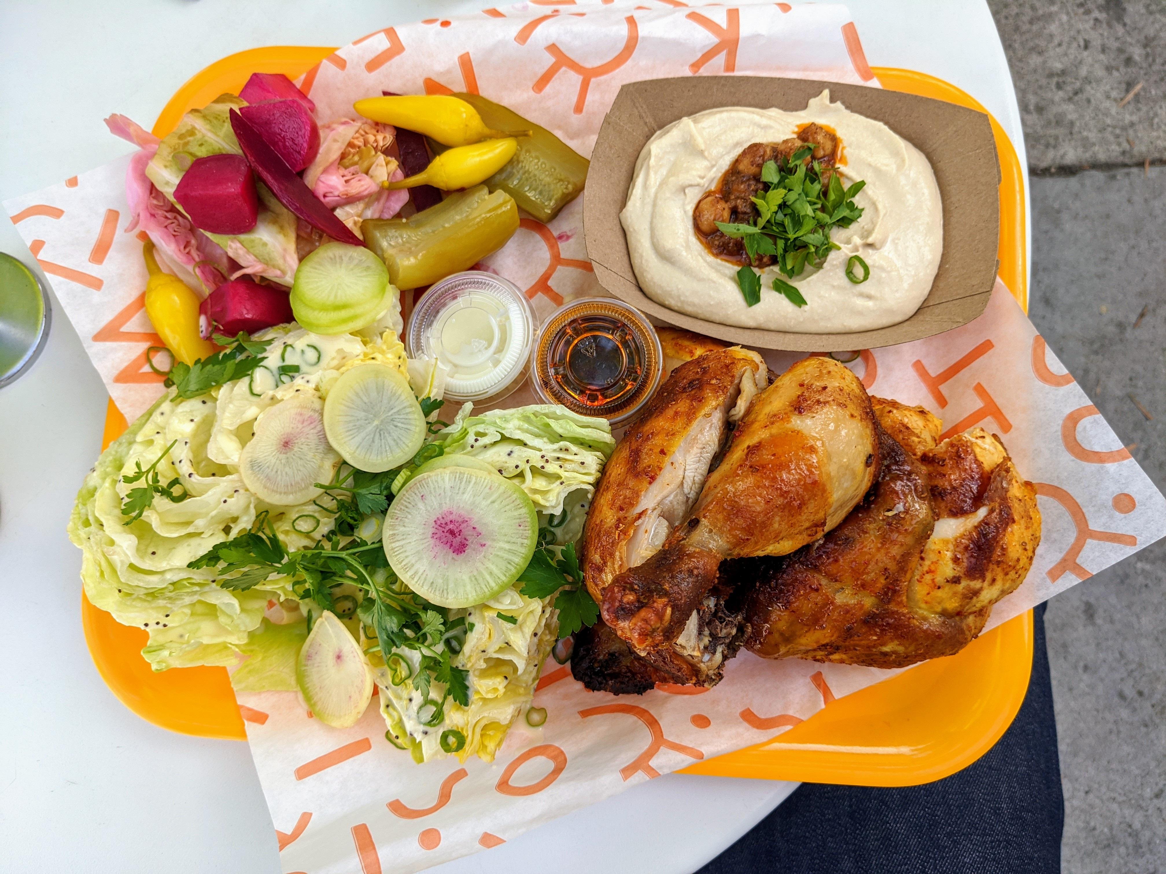 Chicken at Kismet Rotisserie
