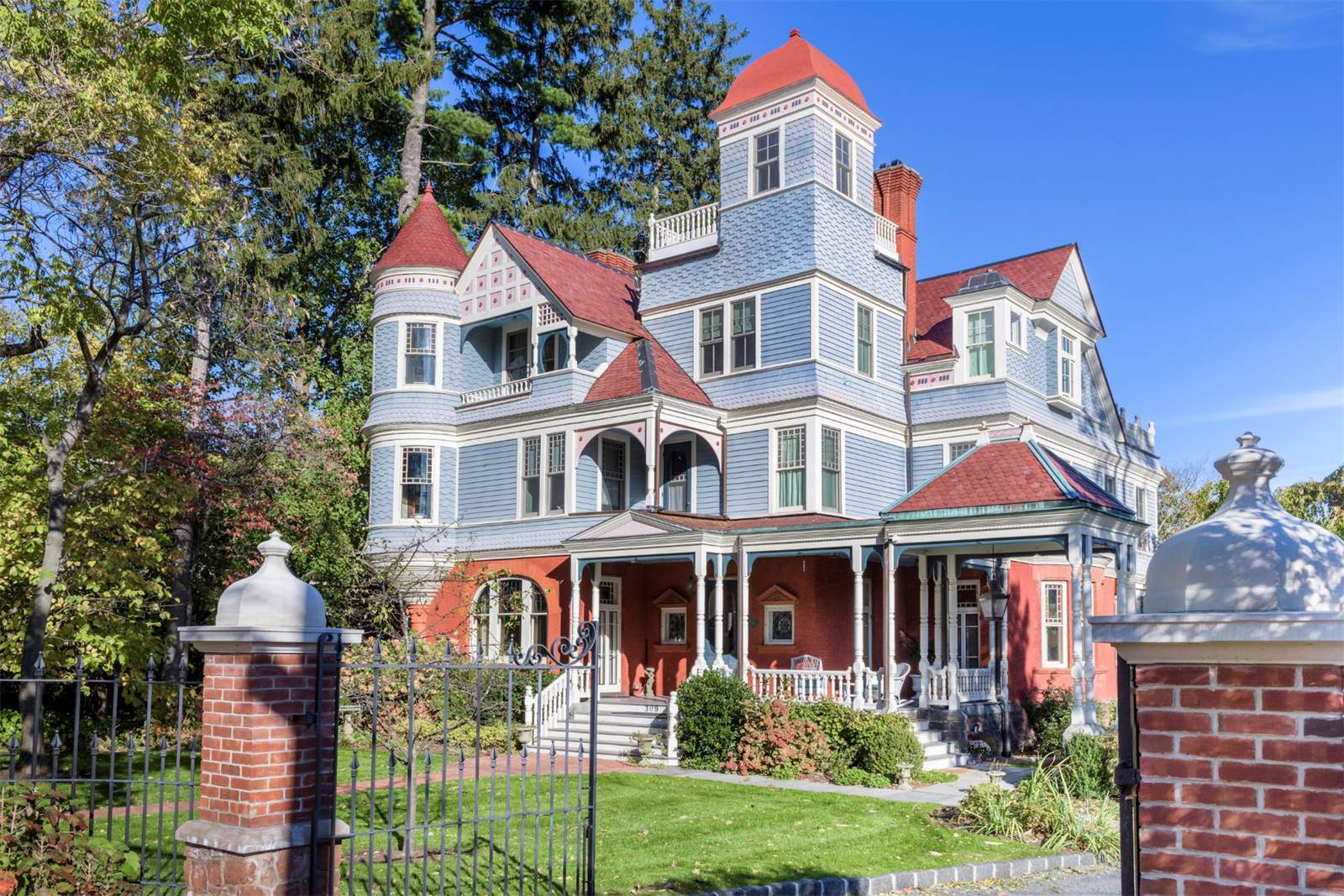 Curbed love where you live for New victorian style homes