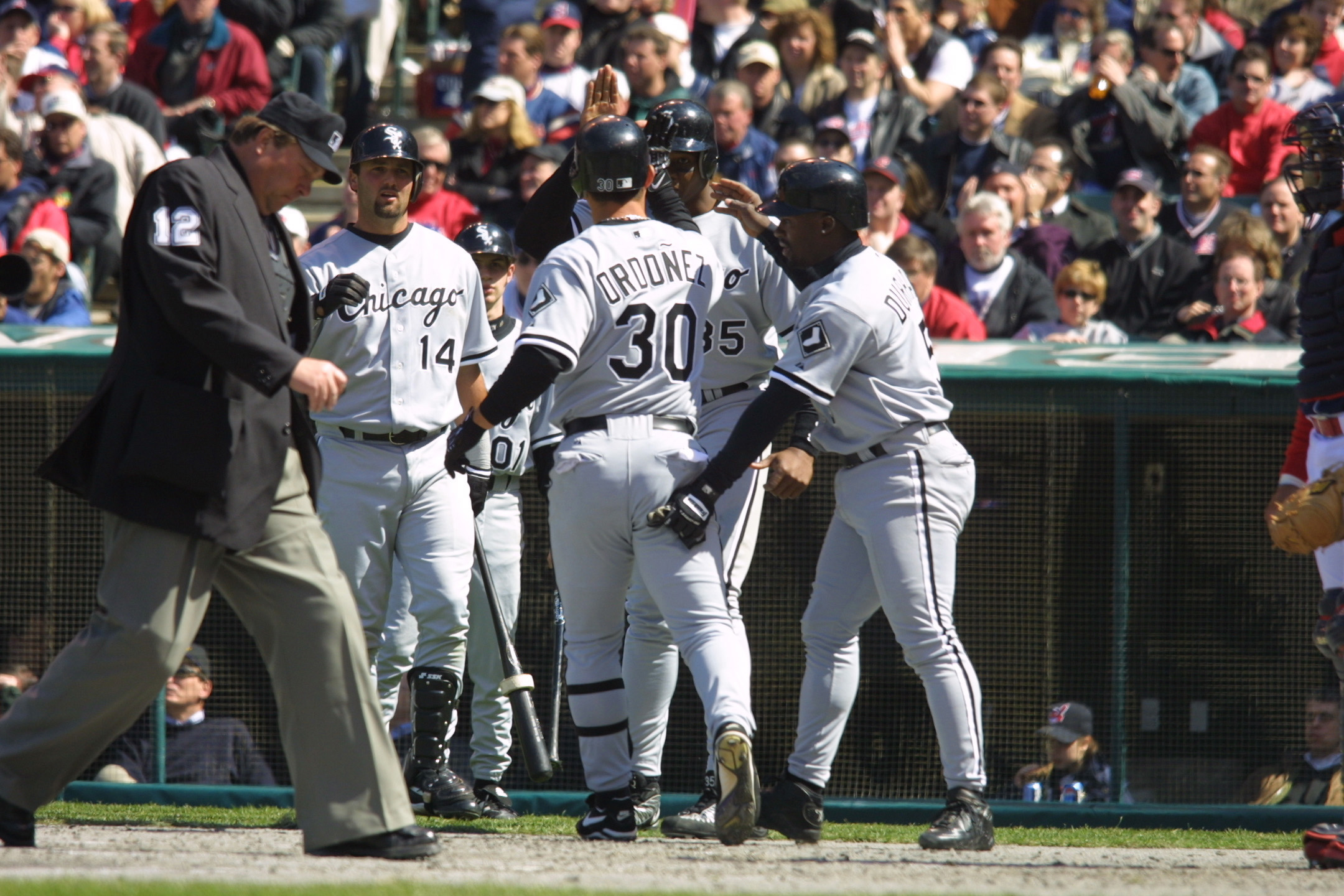 Indians v White Sox X Ordonez