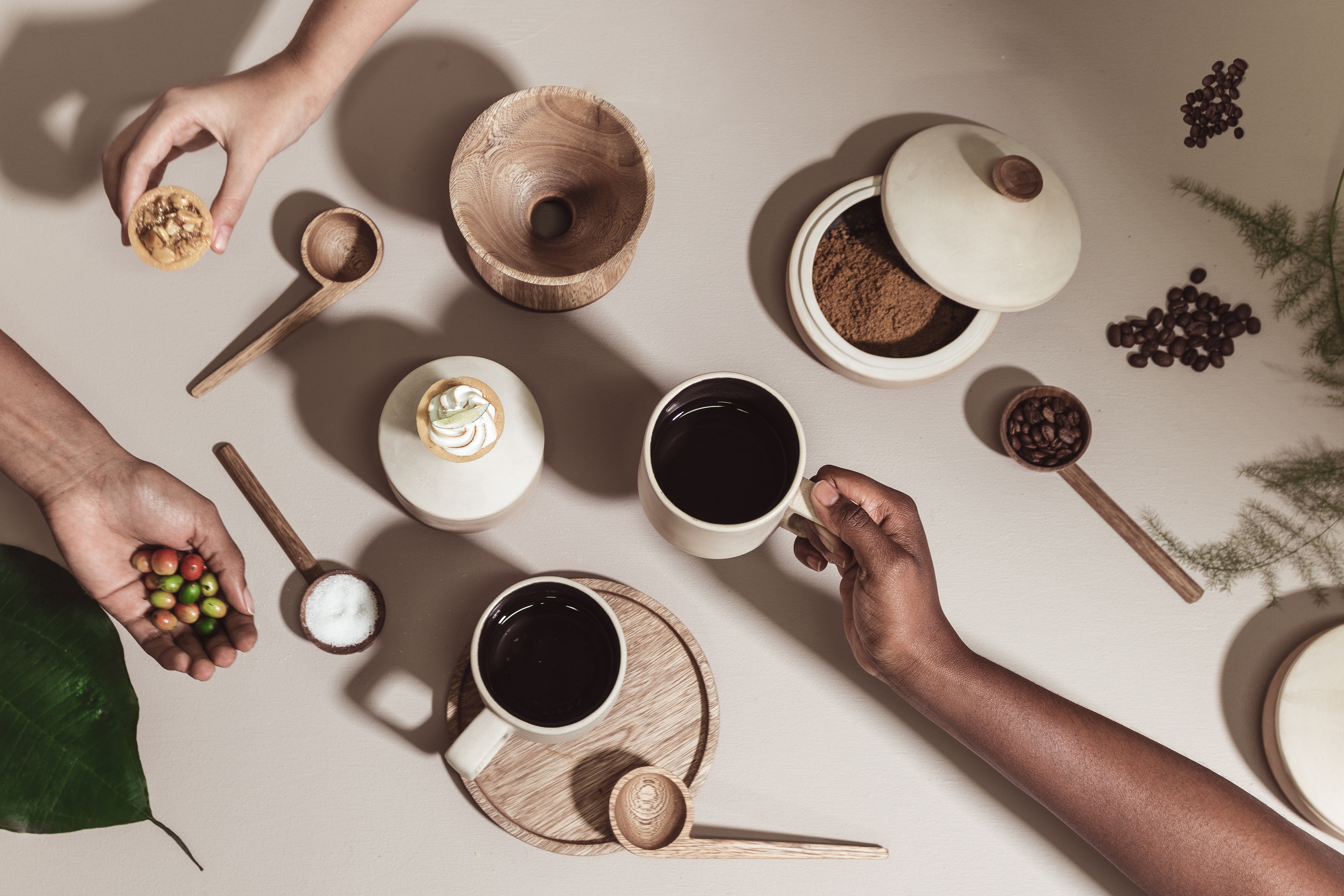 Gorgeous home goods collection celebrates the rituals of coffee