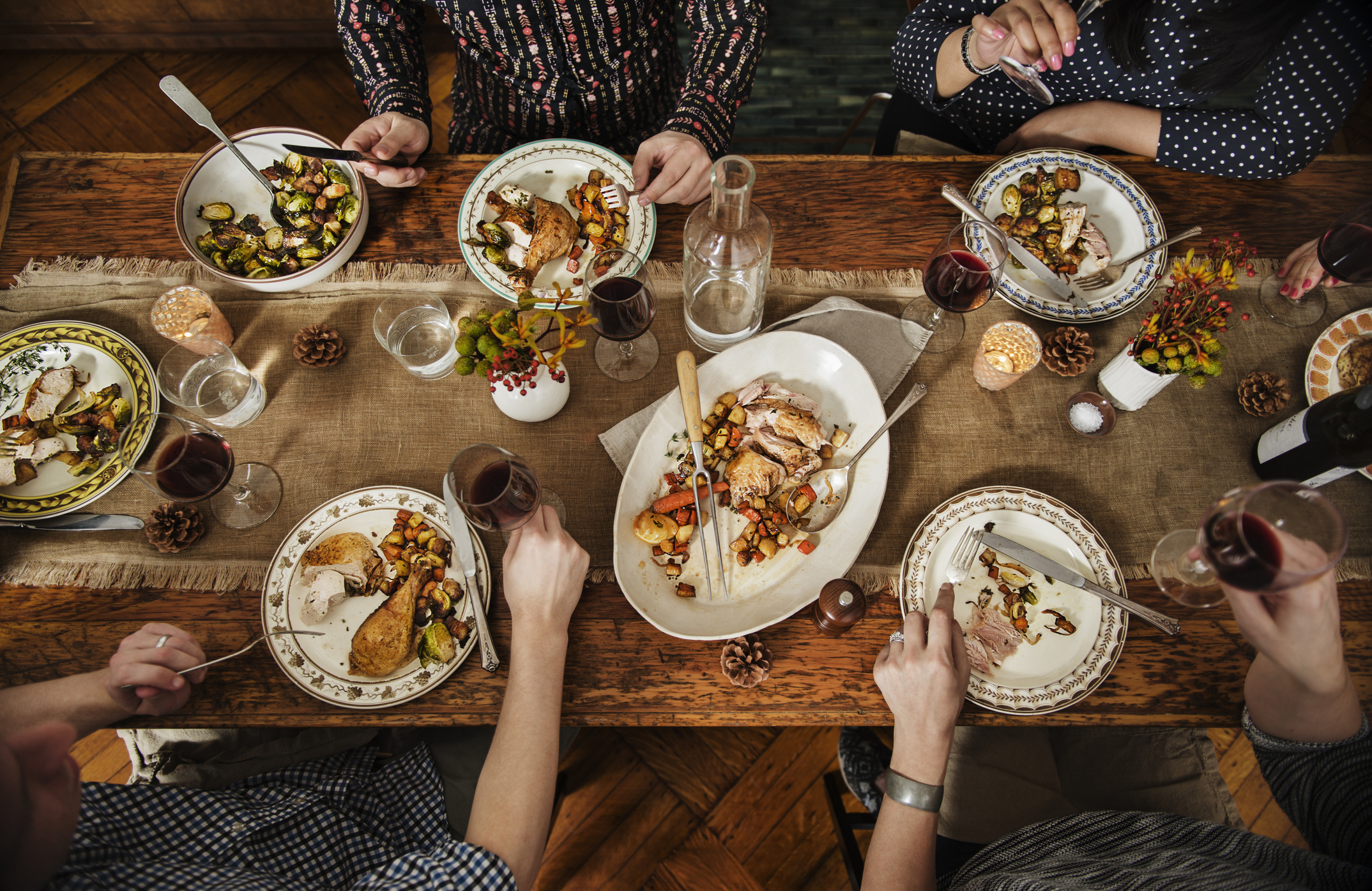 How to host Thanksgiving dinner when everyone has a dietary restriction