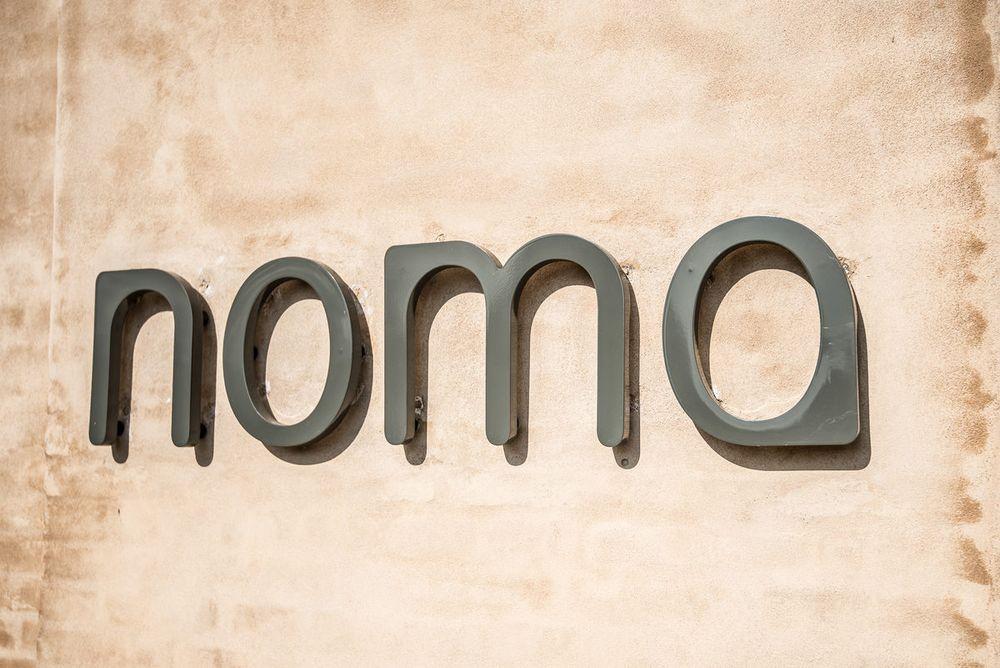 The sign at Noma's original location.