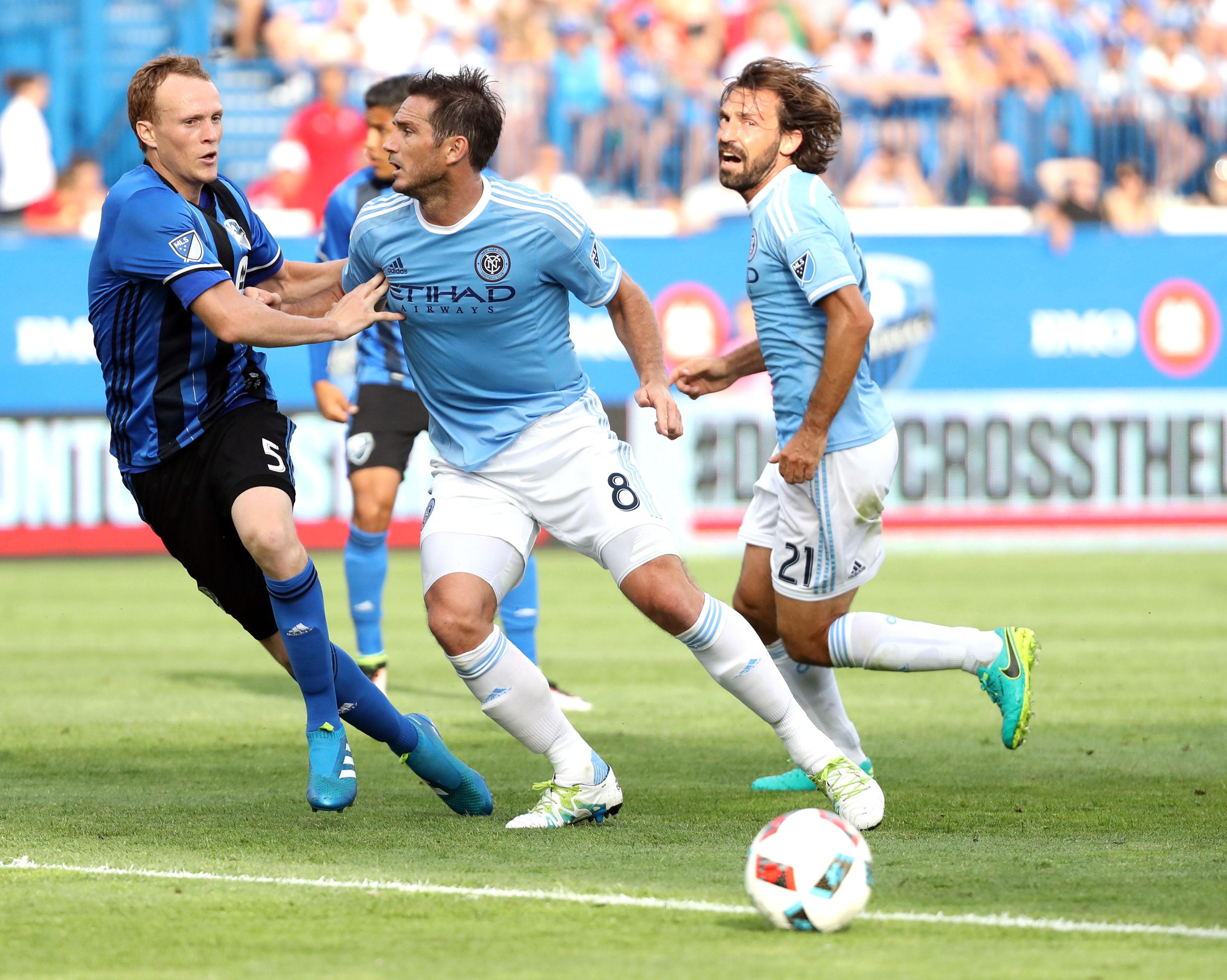 MLS: New York City FC at Montreal Impact