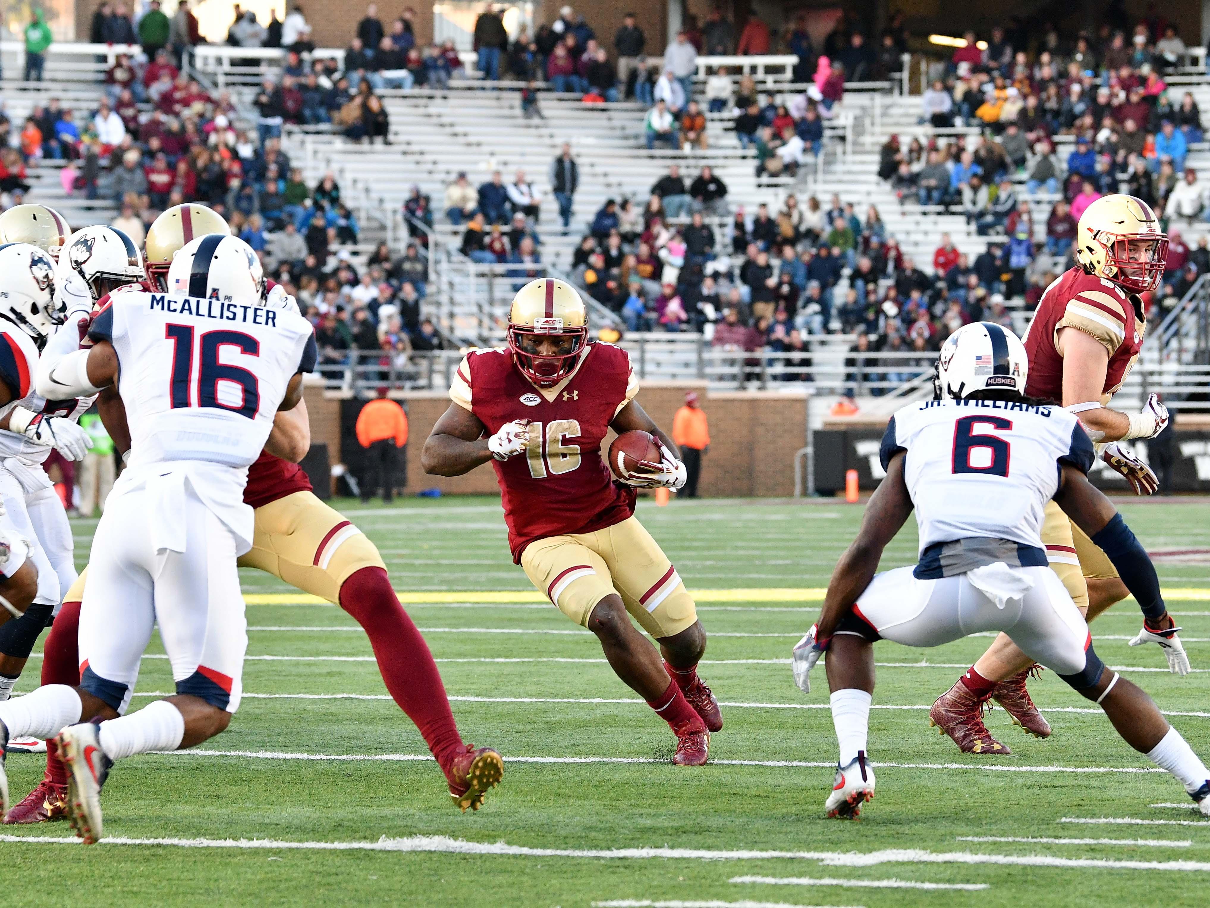 NCAA Football: Connecticut at Boston College