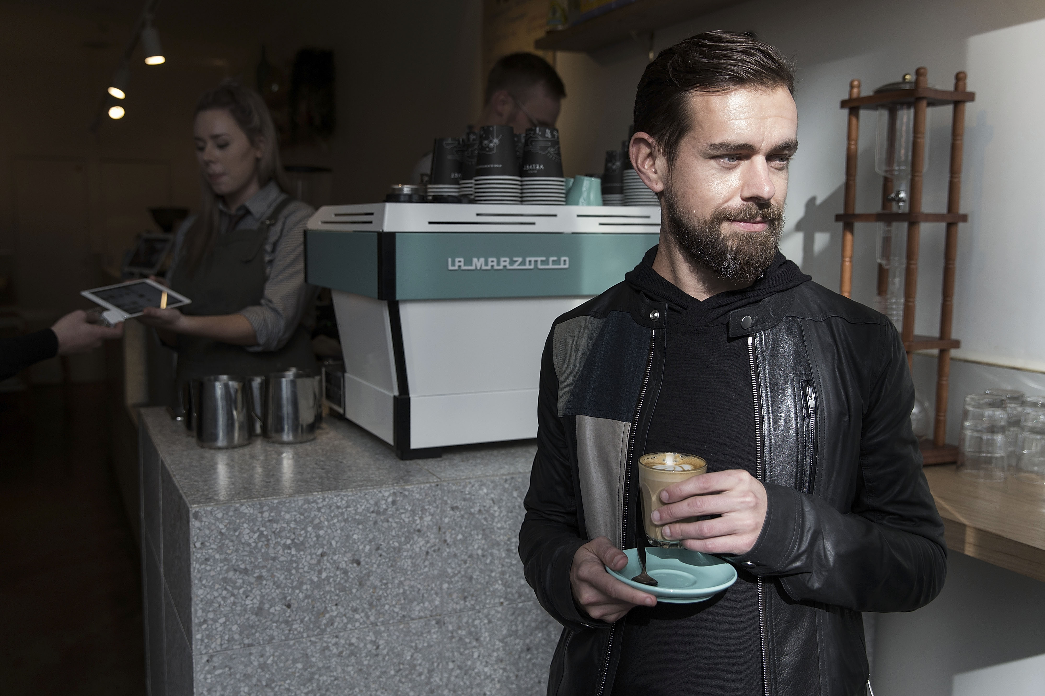 Jack Dorsey, CEO of Square and Twitter