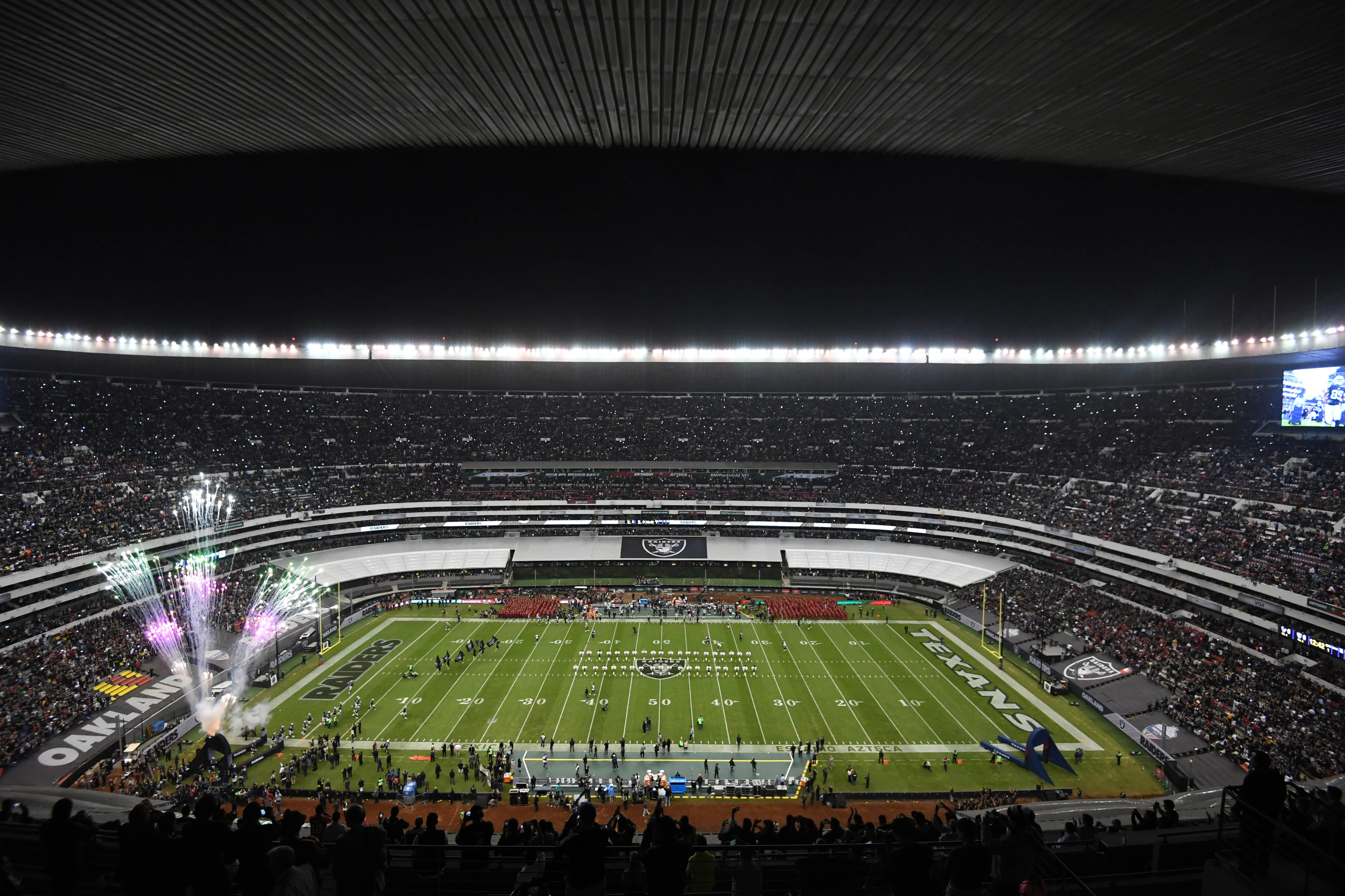 The brief history of NFL Mexico games