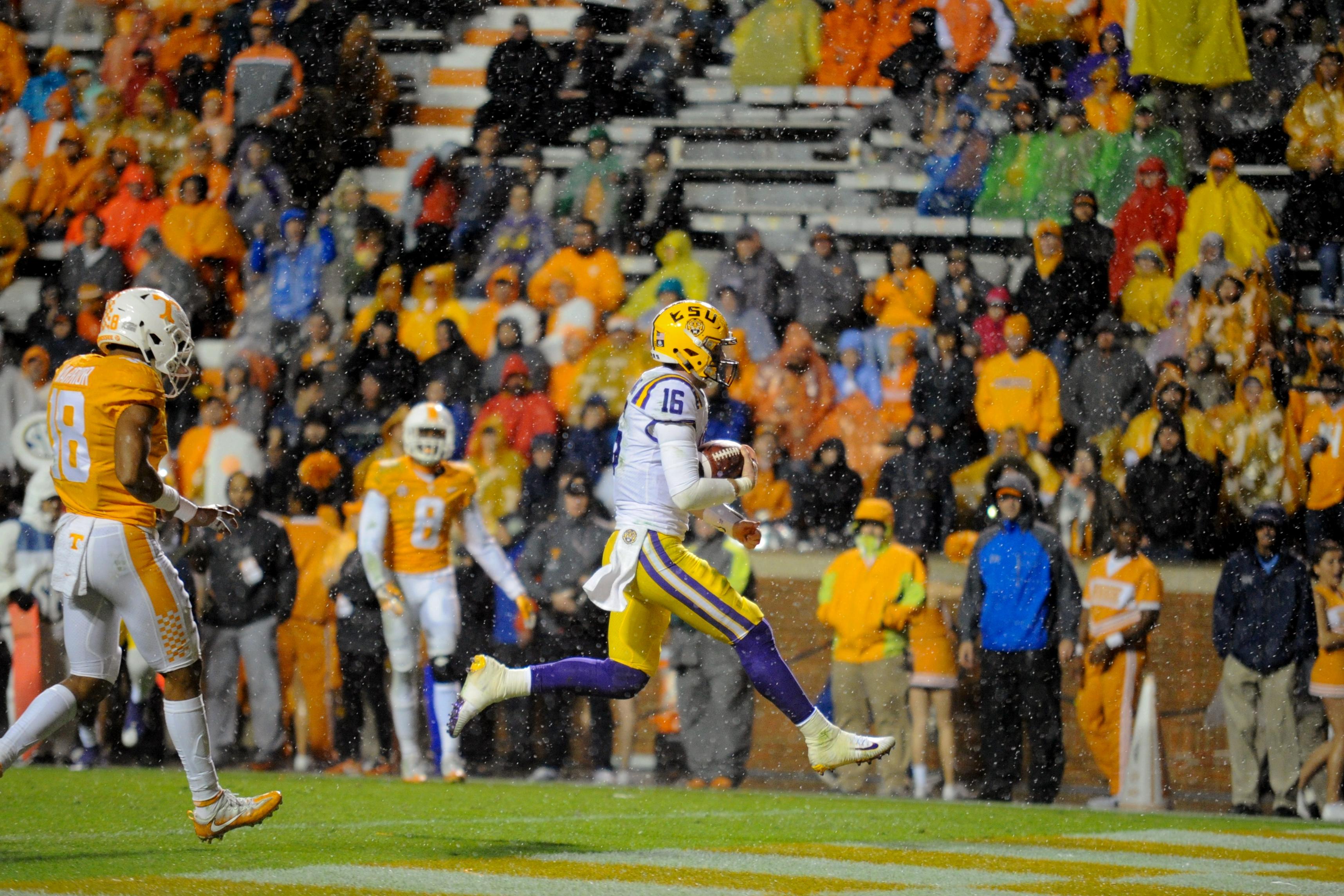 NCAA Football: Louisiana State at Tennessee