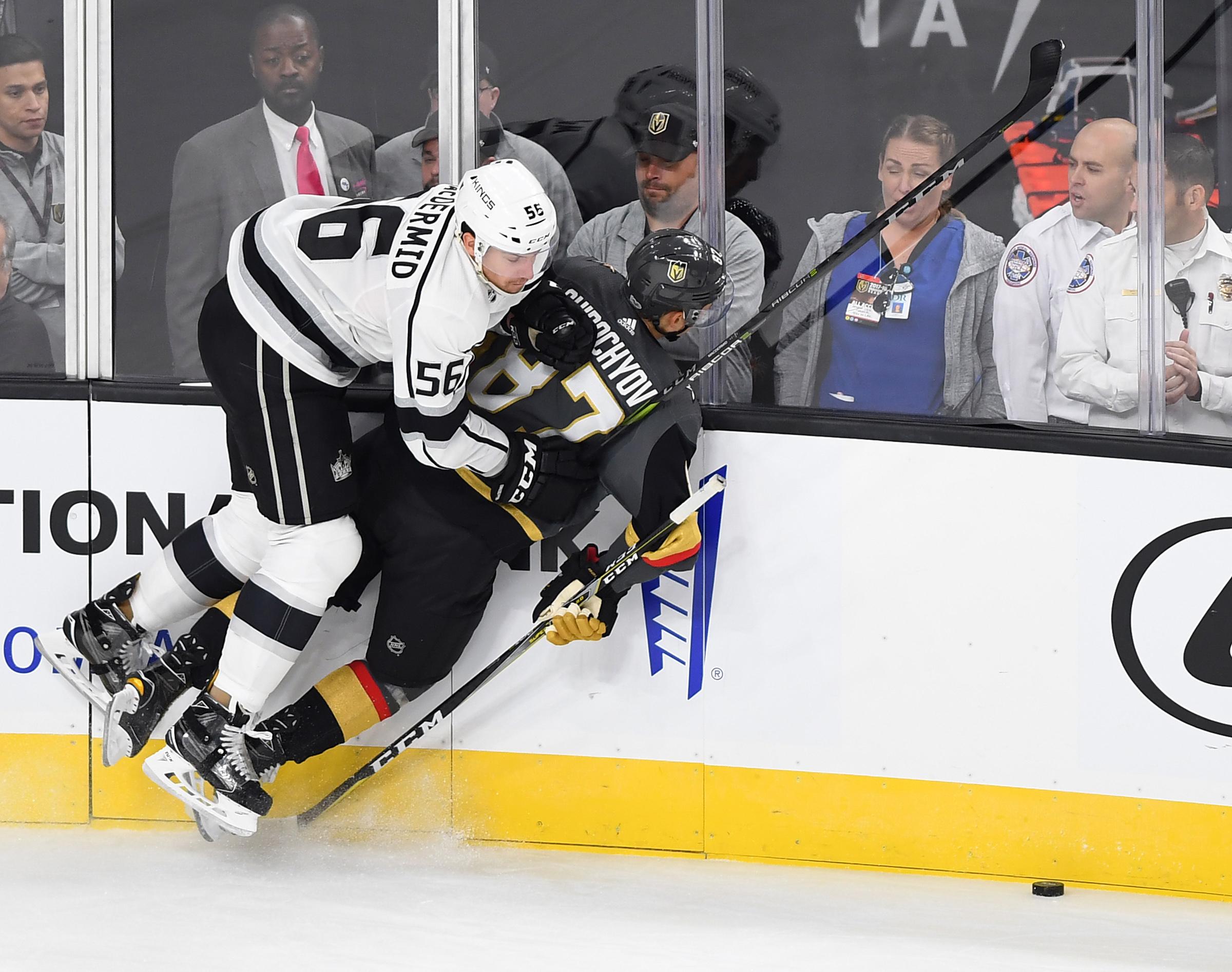 NHL: Preseason-Los Angeles Kings at Vegas Golden Knights