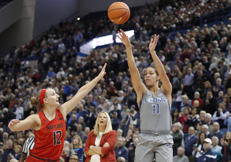 NCAA Womens Basketball: Maryland at Connecticut