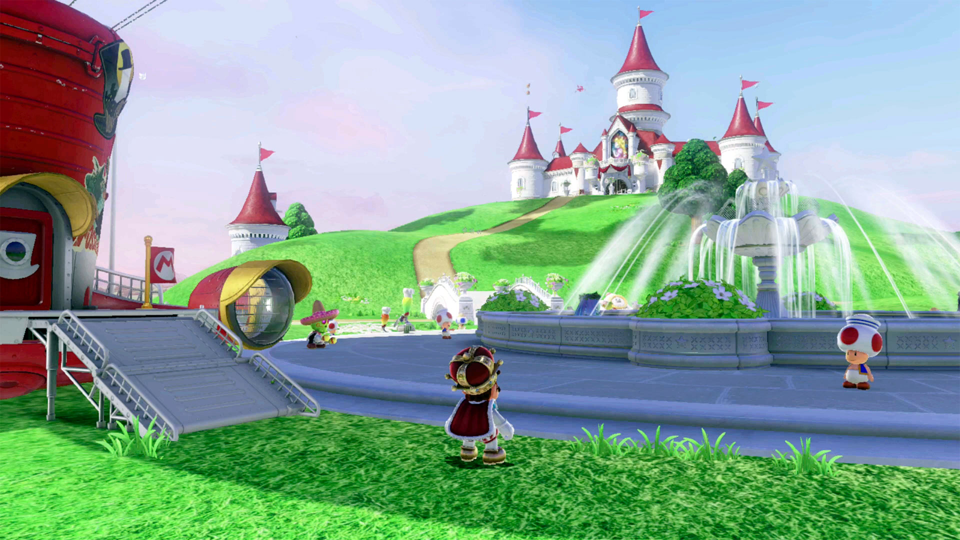 Super Mario Odyssey guide: Mushroom Kingdom all power moon