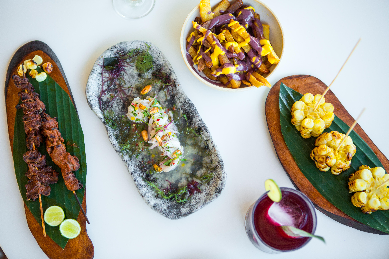 Peruvian food from Yuyo