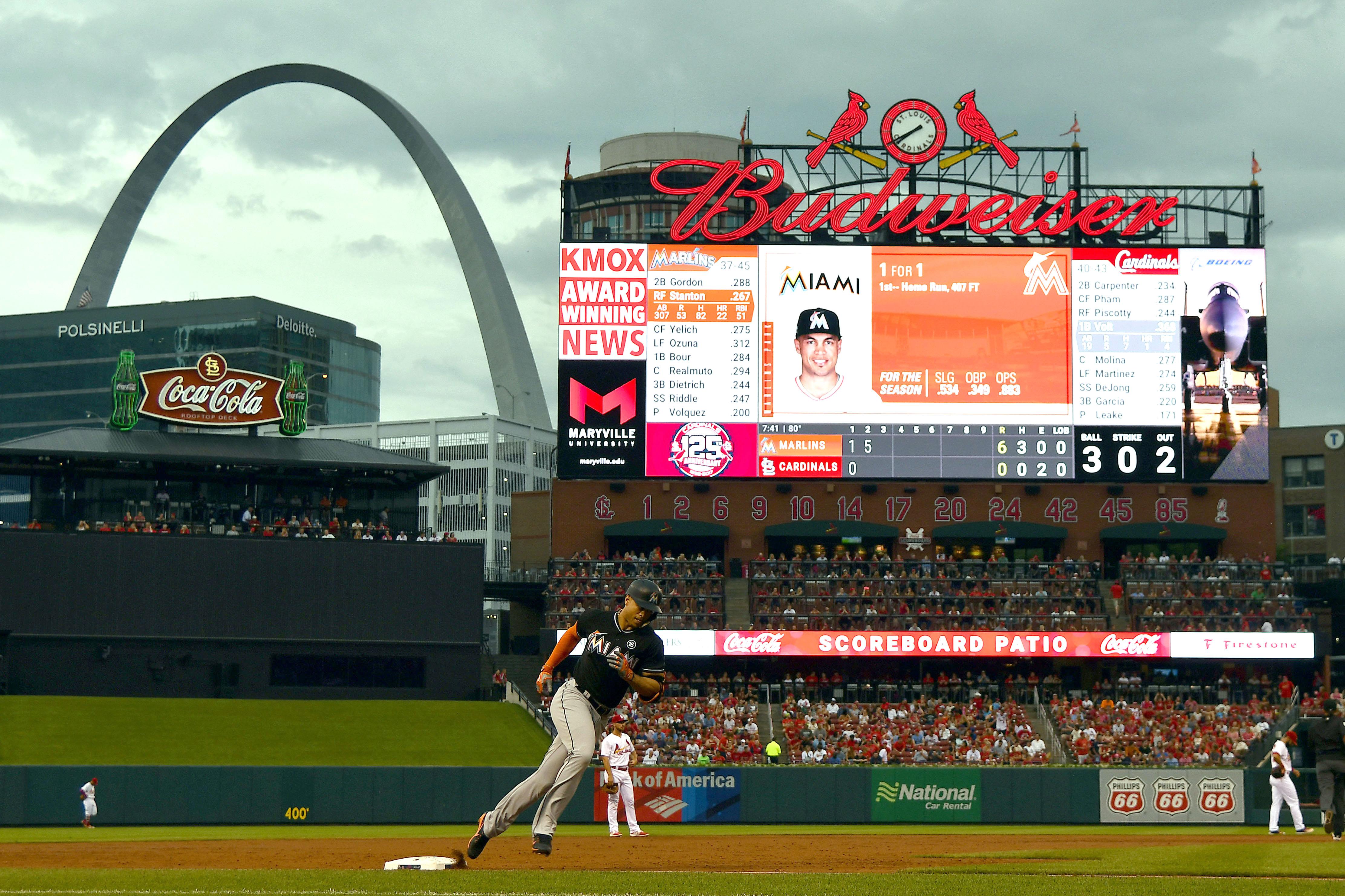 MLB: Miami Marlins at St. Louis Cardinals