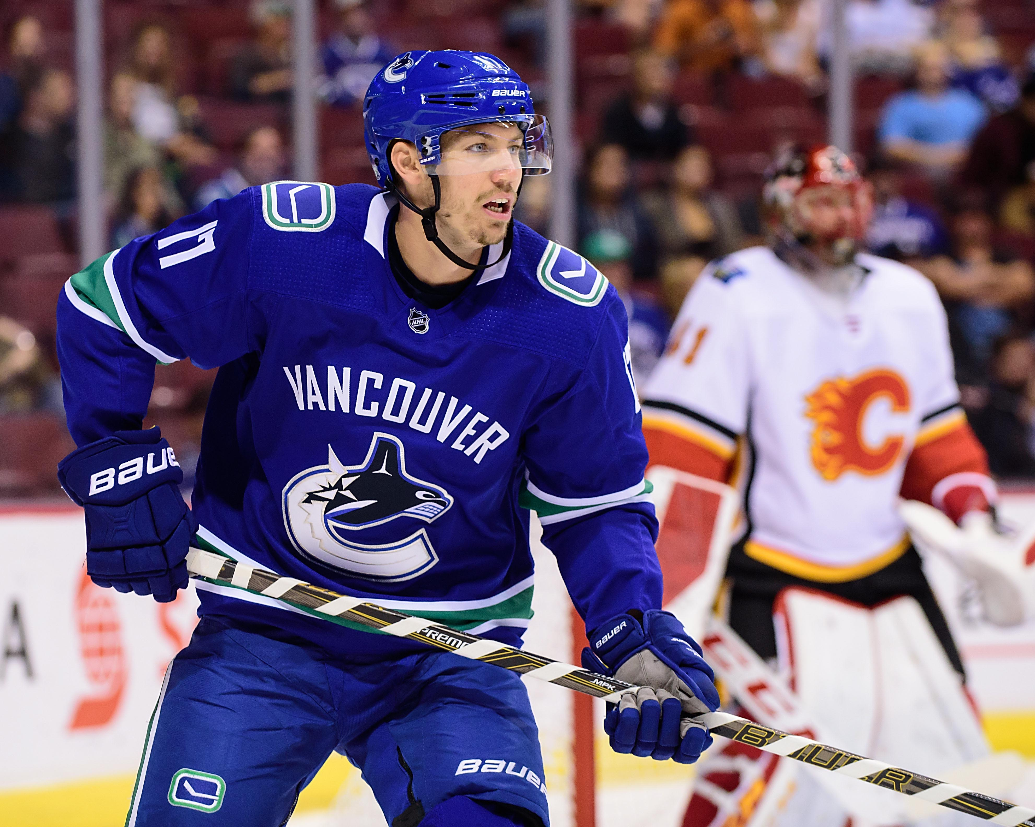 NHL: Preseason-Calgary Flames at Vancouver Canucks