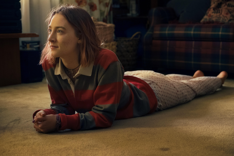 "Saoirse Ronan as Christine ""Lady Bird"" McPherson in Lady Bird."