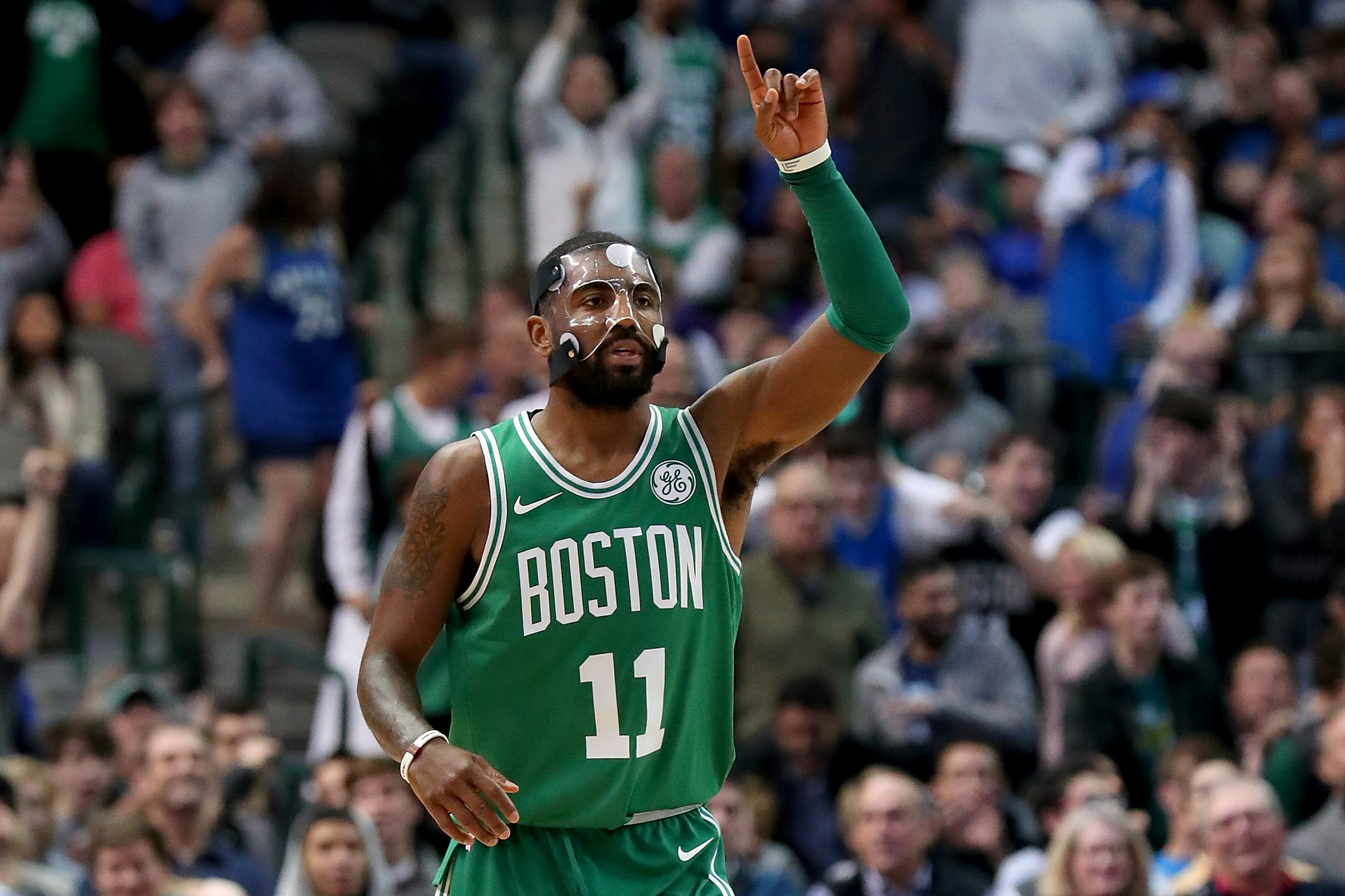 Kyrie Irving is out of this flat world