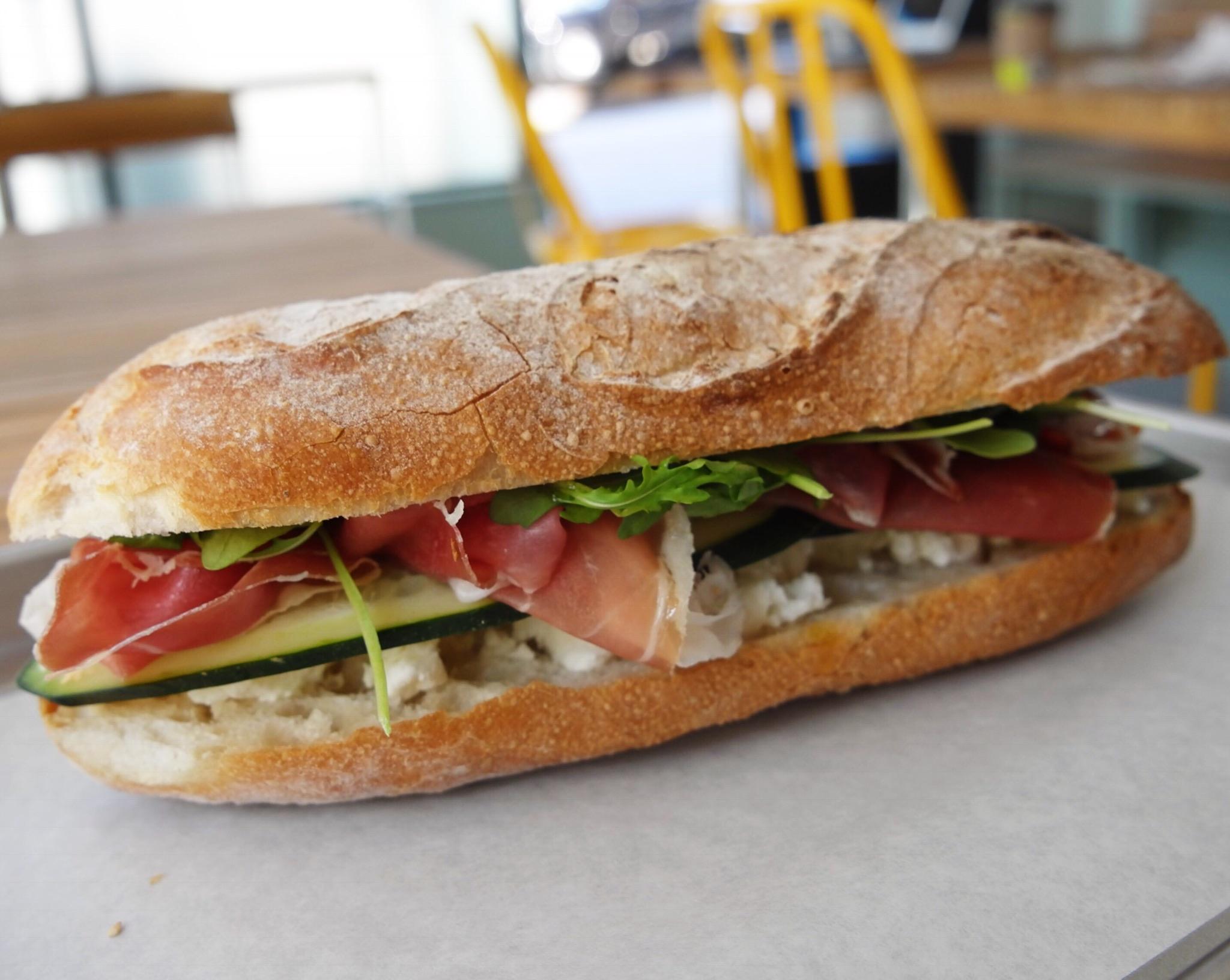 A sandwich from La Matta
