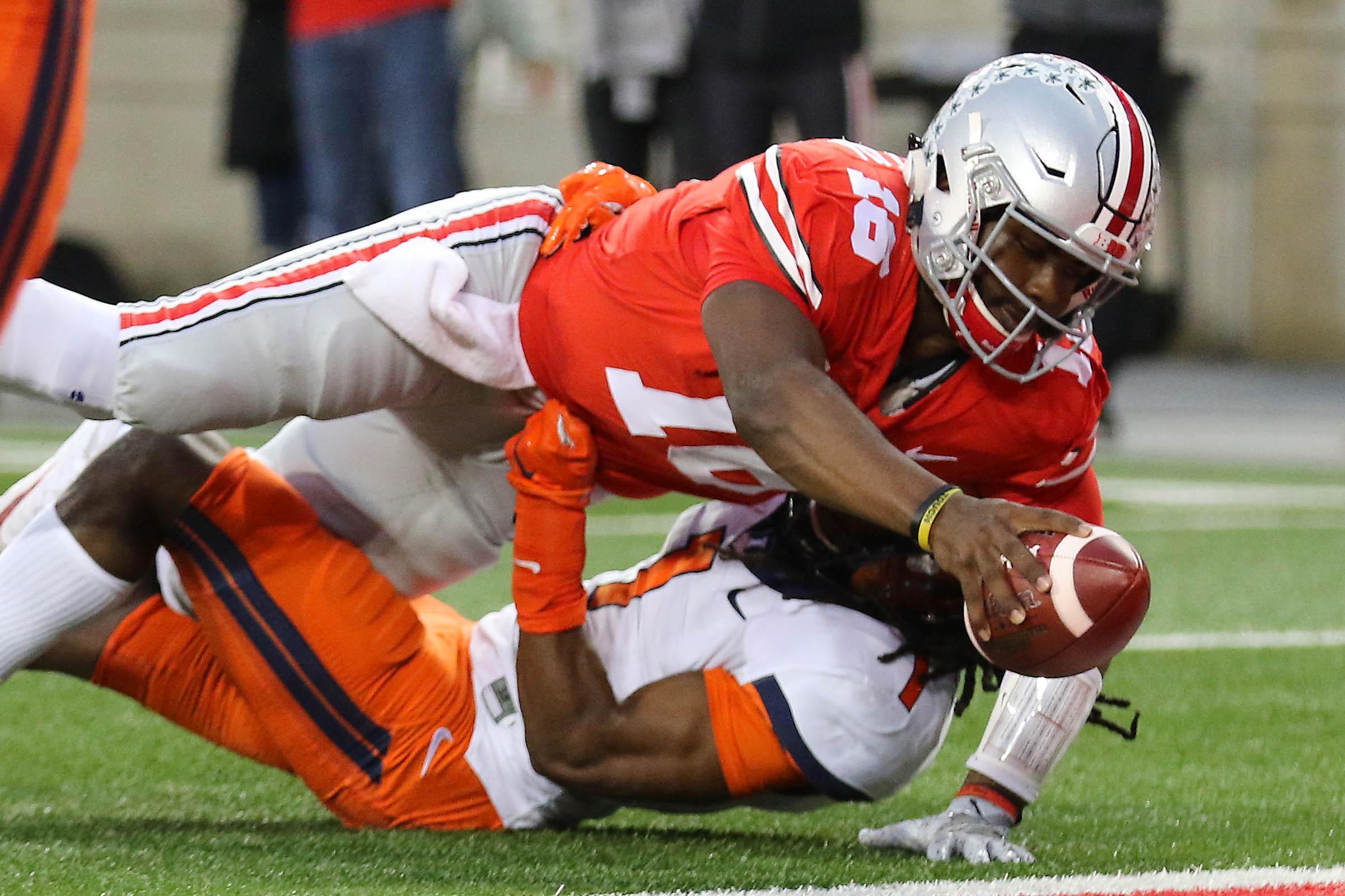 NCAA Football: Illinois at Ohio State