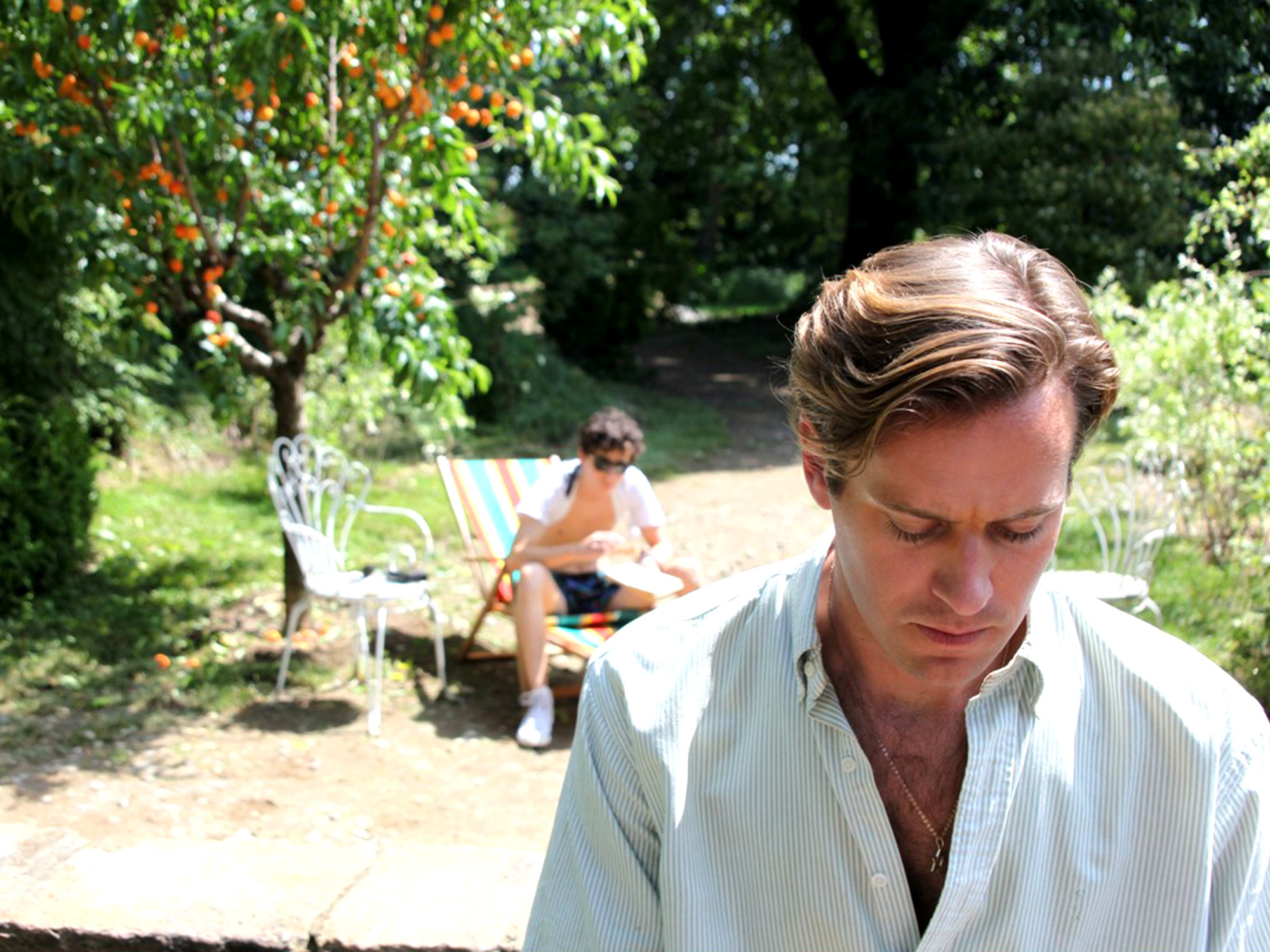 Call Me by Your Name is an erotic film in every sense of the word. It's also a masterpiece.