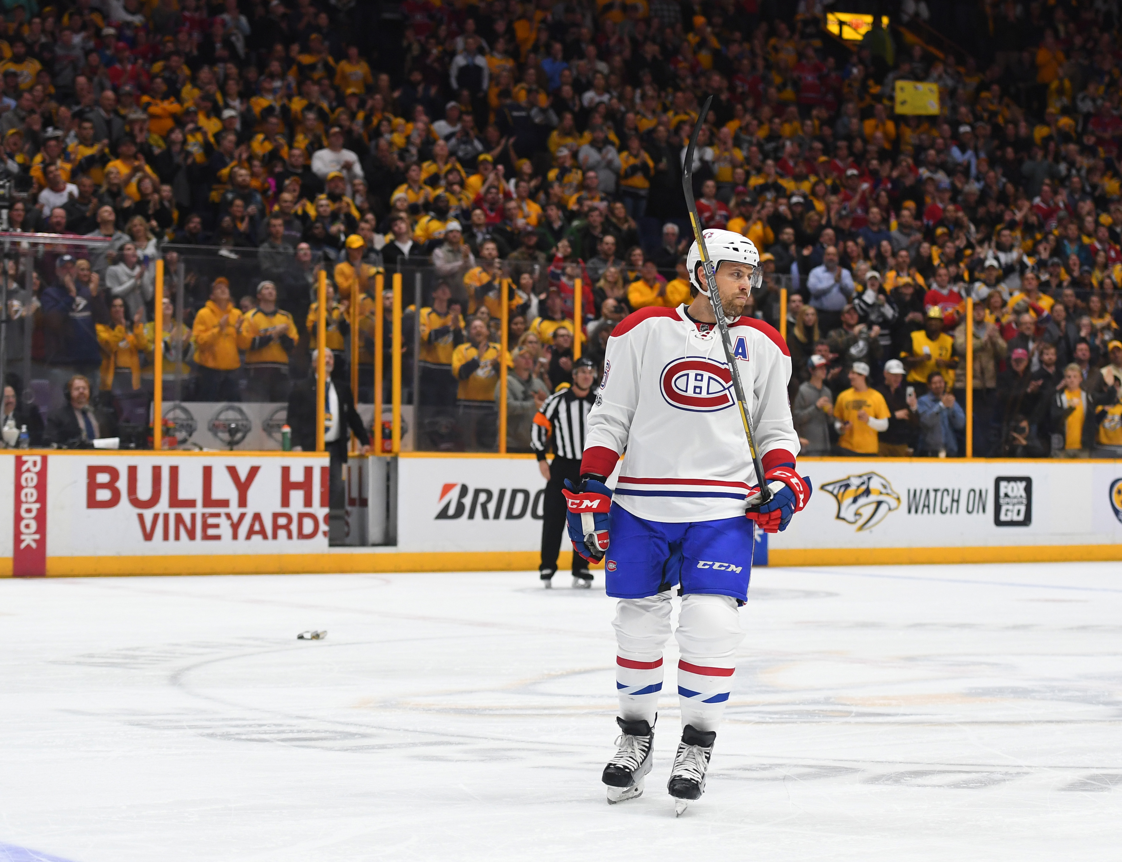 NHL: Montreal Canadiens at Nashville Predators
