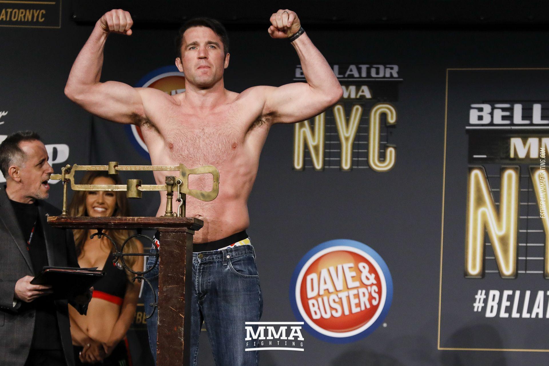 Chael Sonnen, Bellator 192 weigh-ins