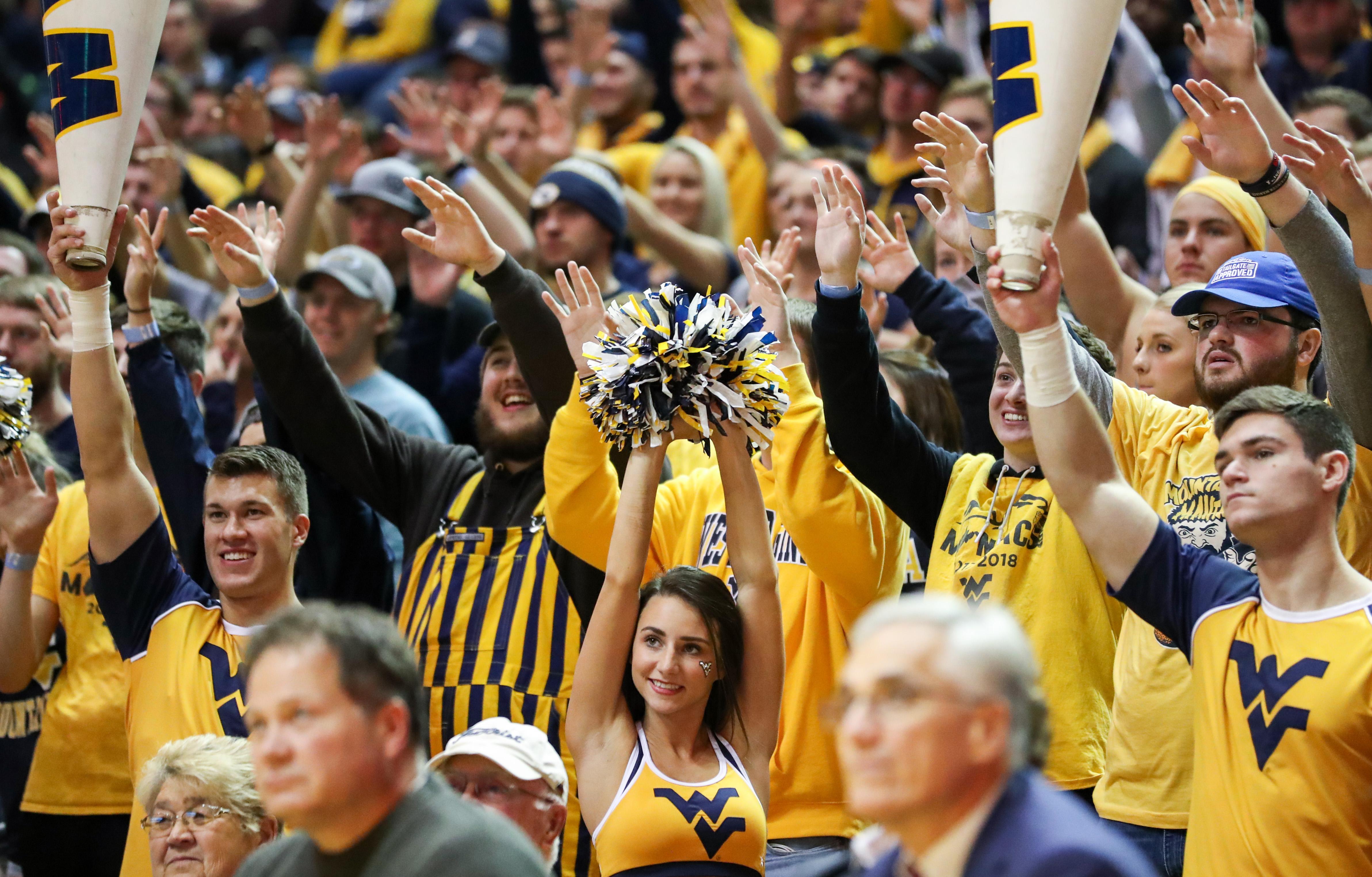 NCAA Basketball: American U. at West Virginia