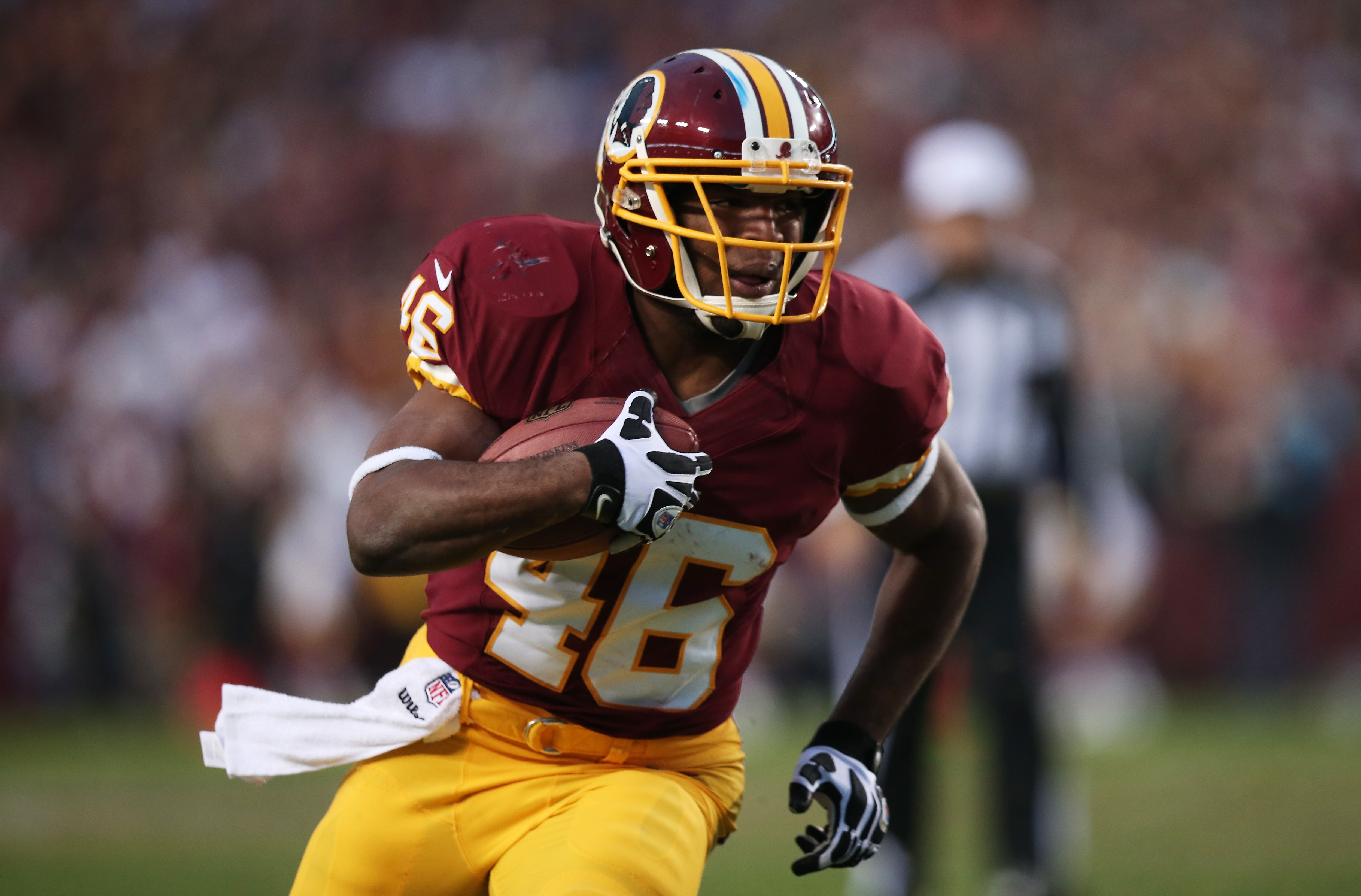 b11bb7350 Redskins by the (Jersey) Numbers   46 - Alfred Morris - Hogs Haven