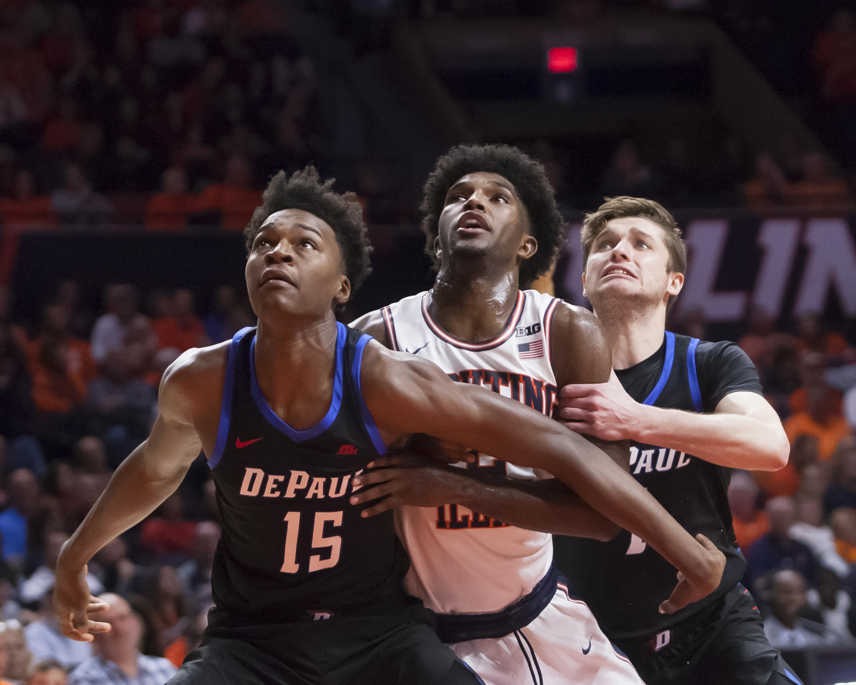 NCAA Basketball: DePaul at Illinois