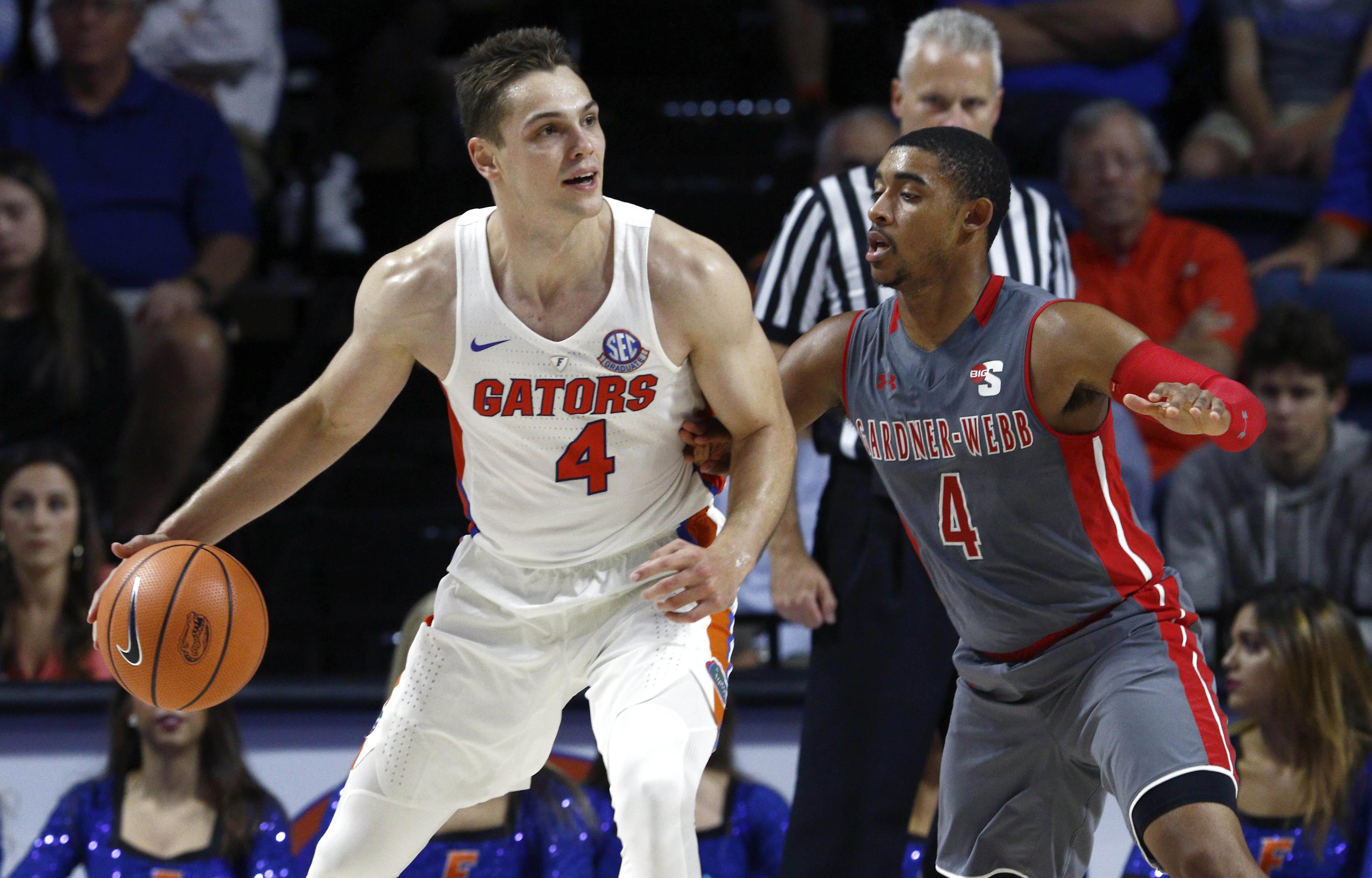 NCAA Basketball: Gardner-Webb at Florida