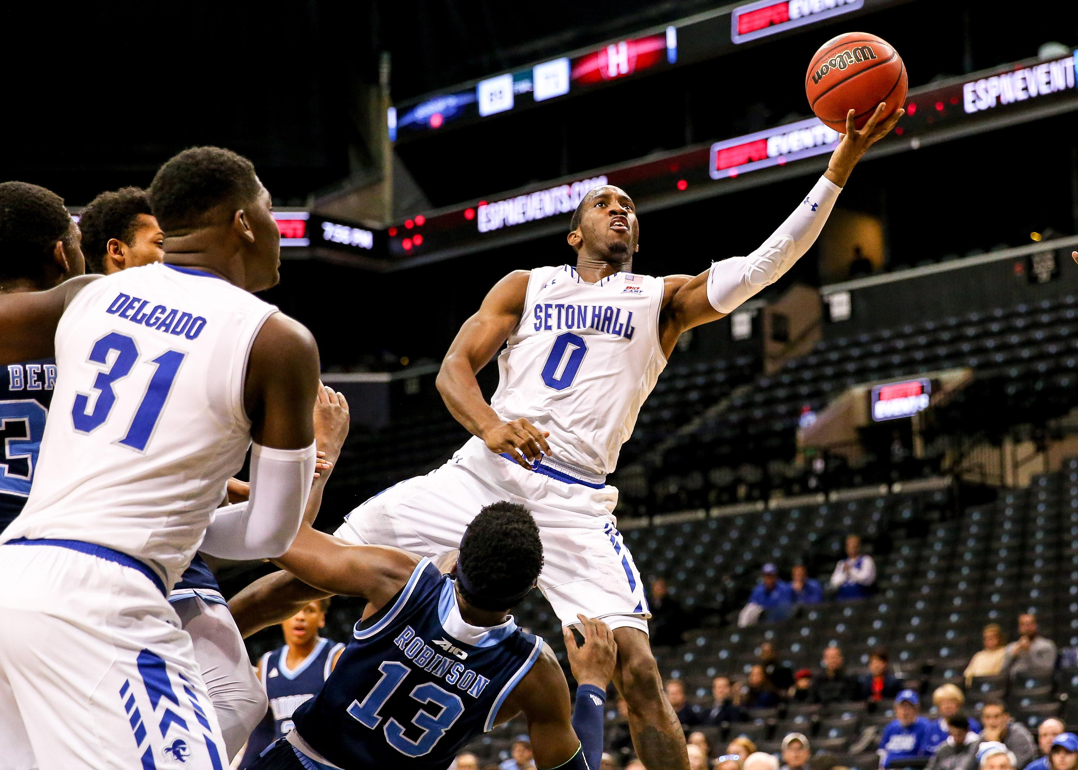 NCAA Basketball: NIT Season Tip-Off-Seton Hall vs Rhode Island