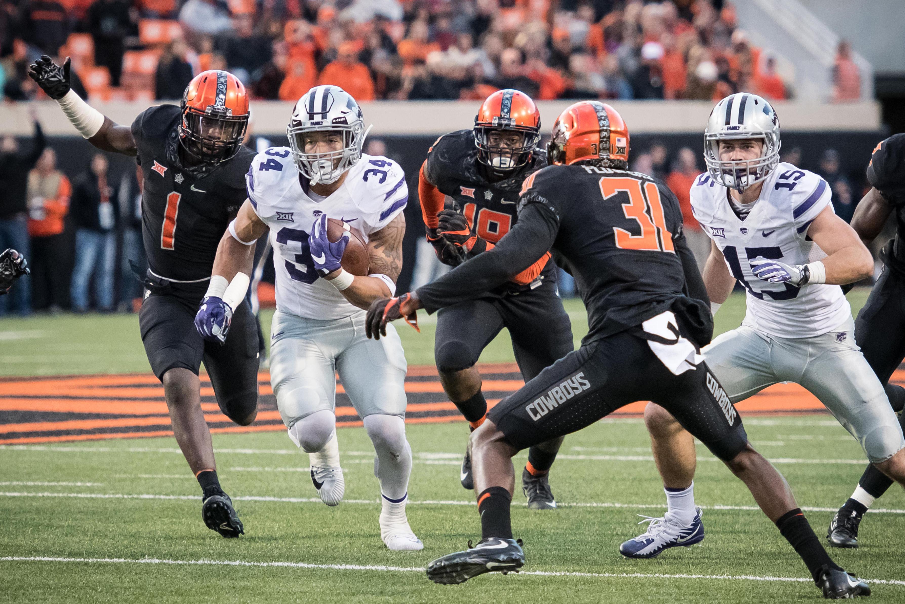 NCAA Football: Kansas State at Oklahoma State