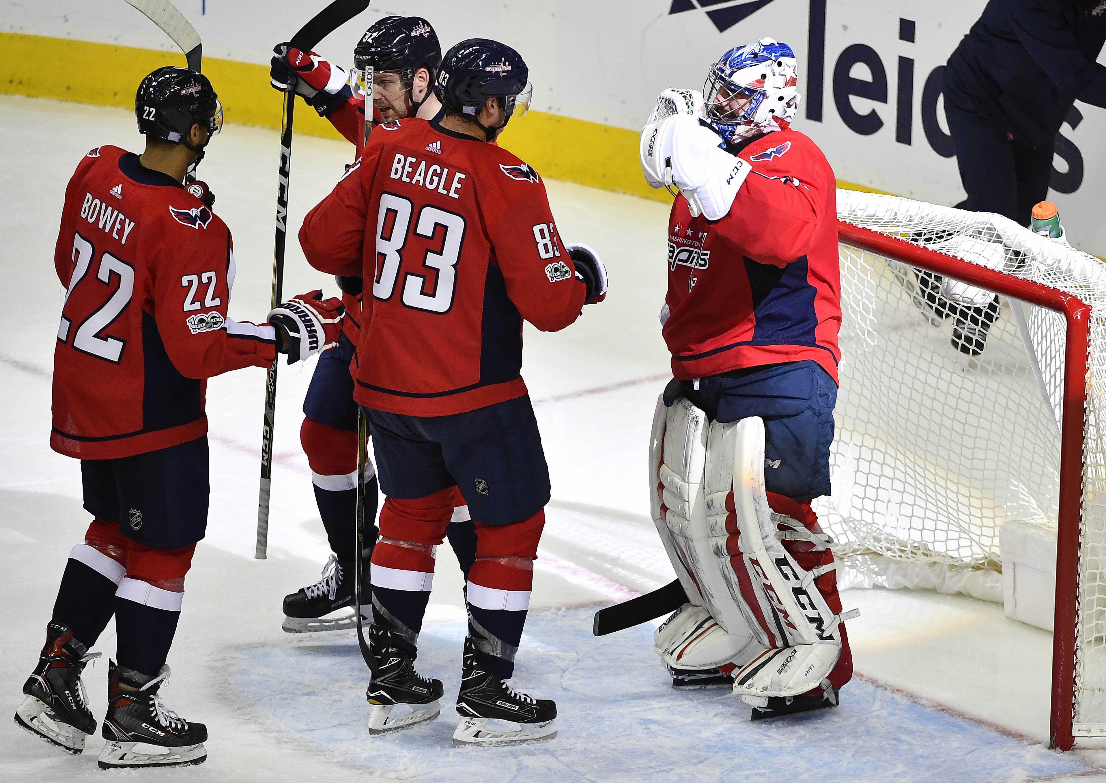 NHL: Tampa Bay Lightning at Washington Capitals