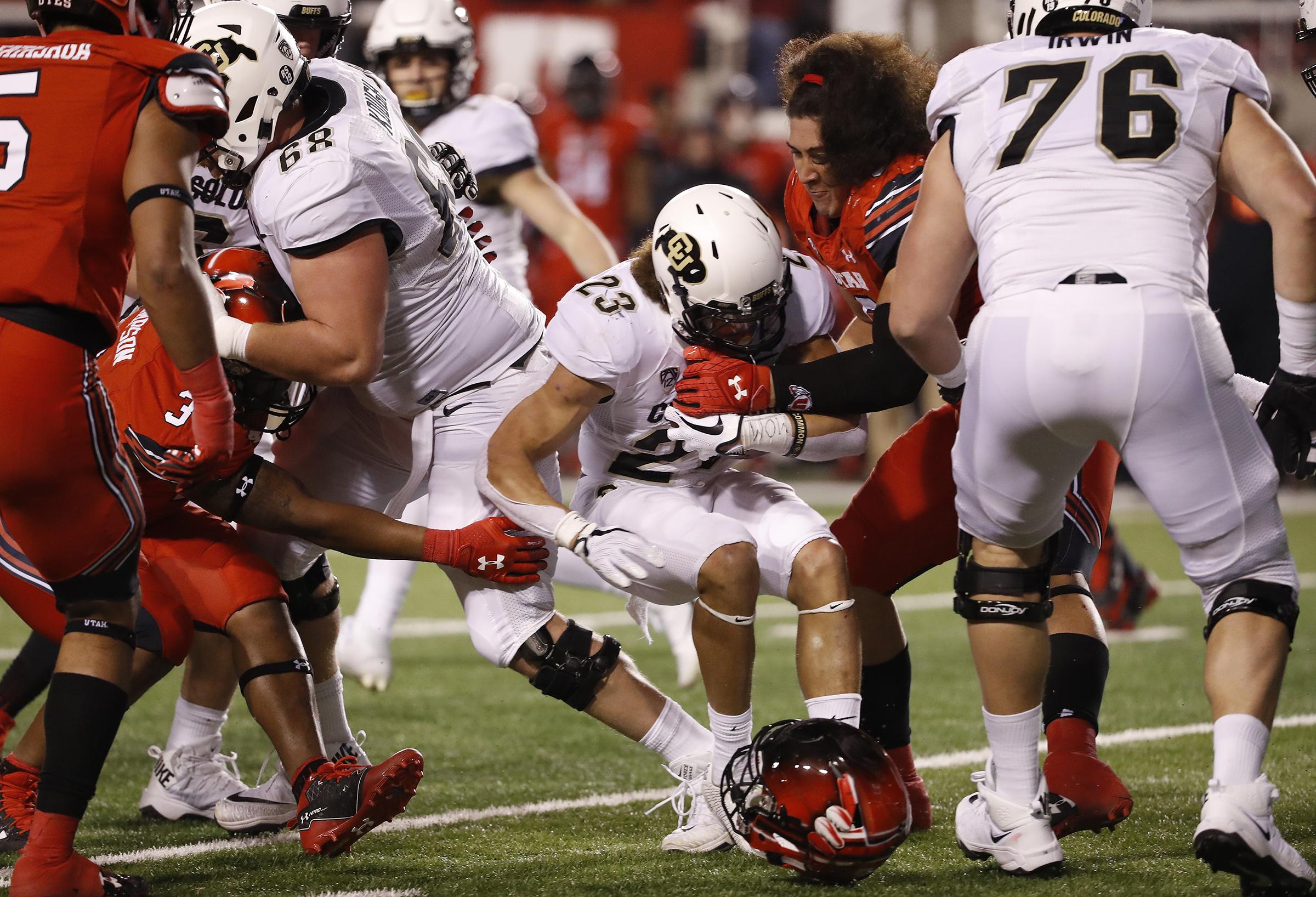 NCAA Football: Colorado at Utah