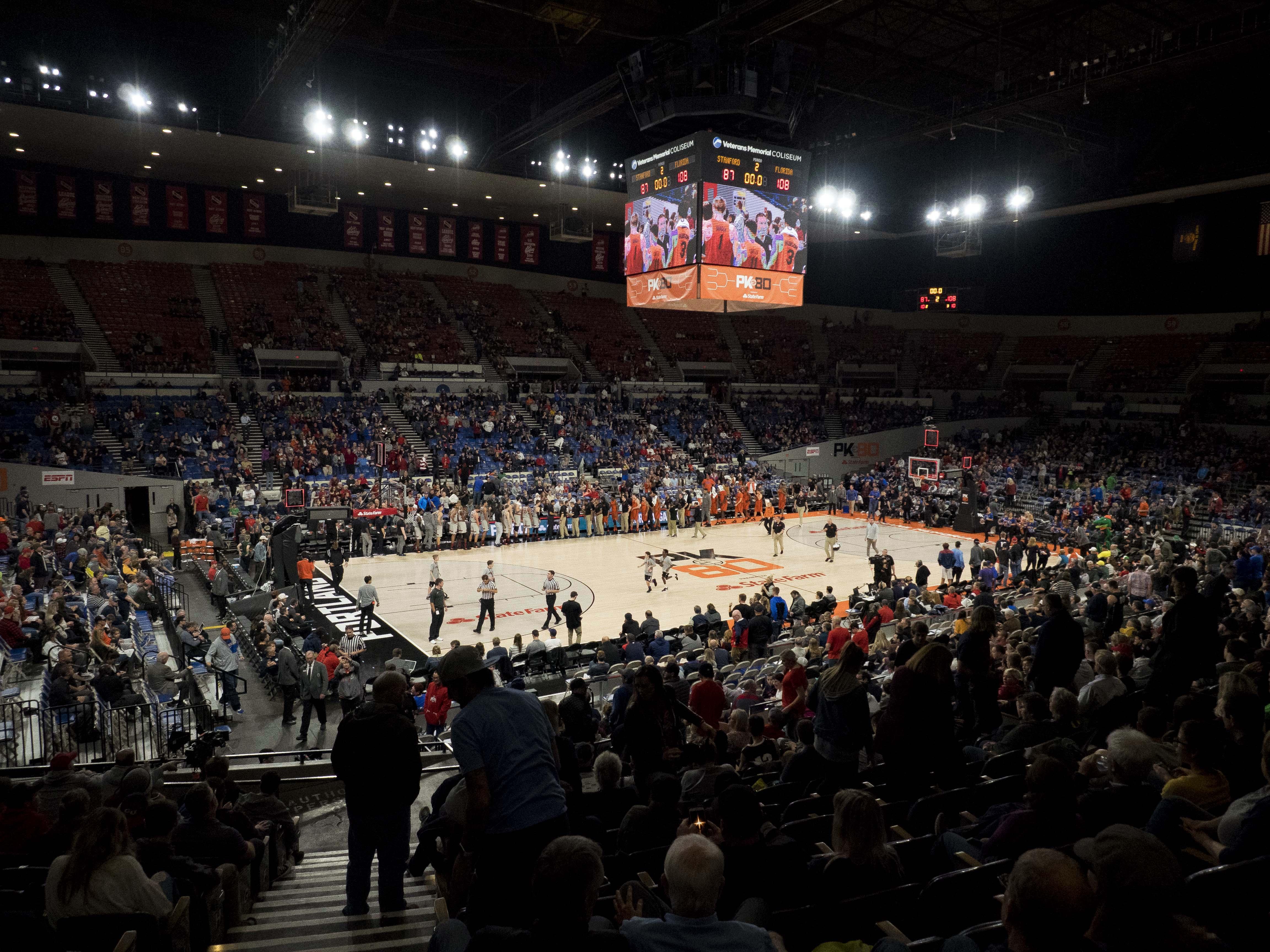NCAA Basketball: Florida at Stanford
