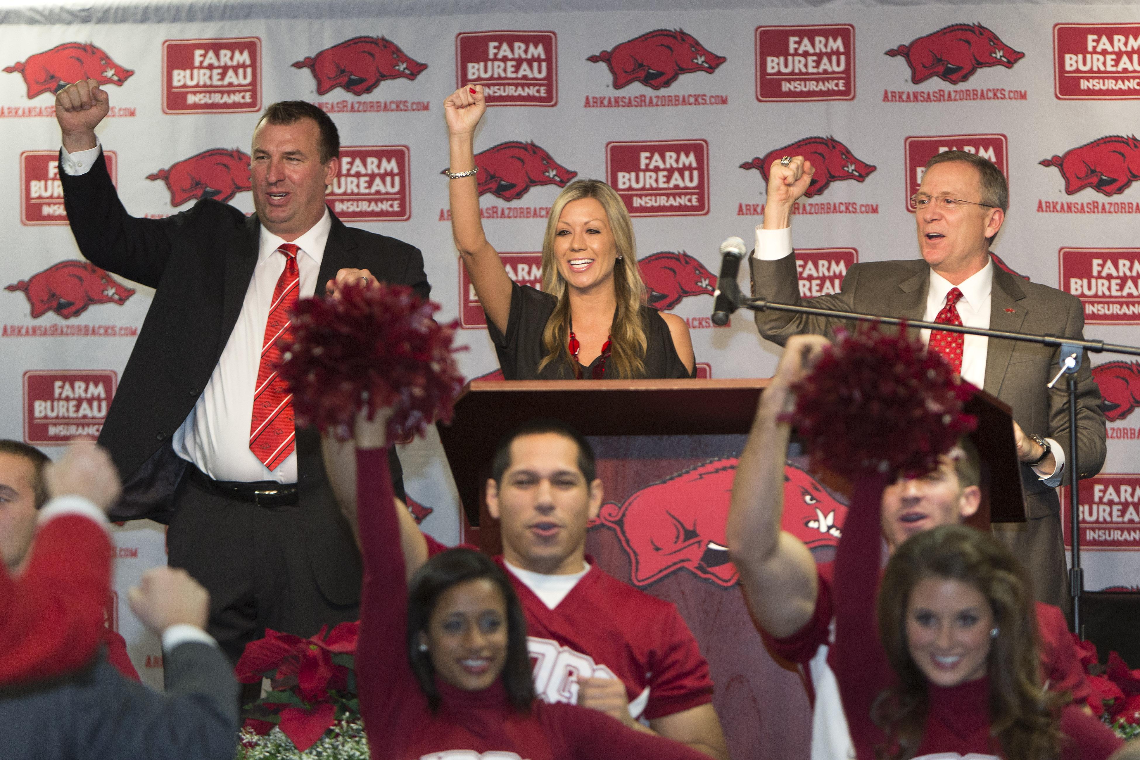 University of Arkansas Introduces Bret Bielema