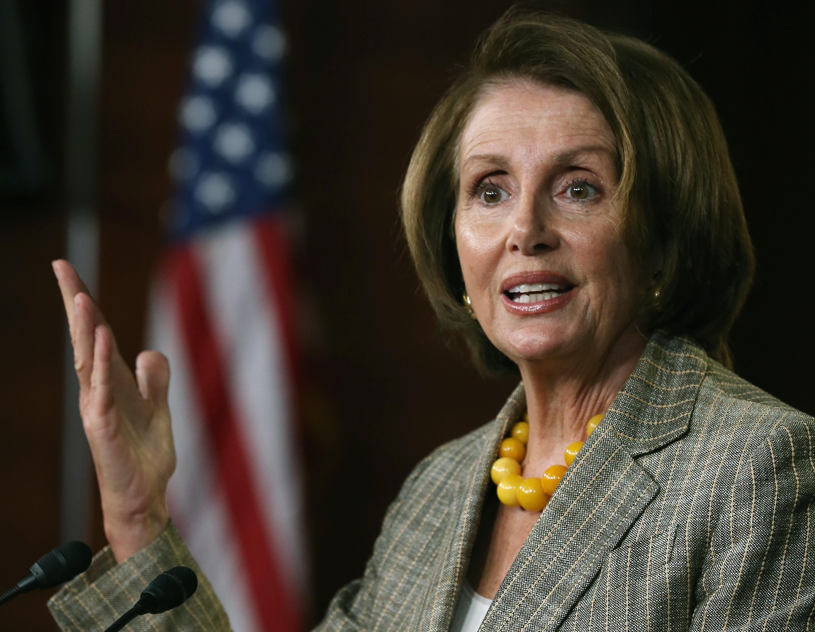 Nancy Pelosi is that woman