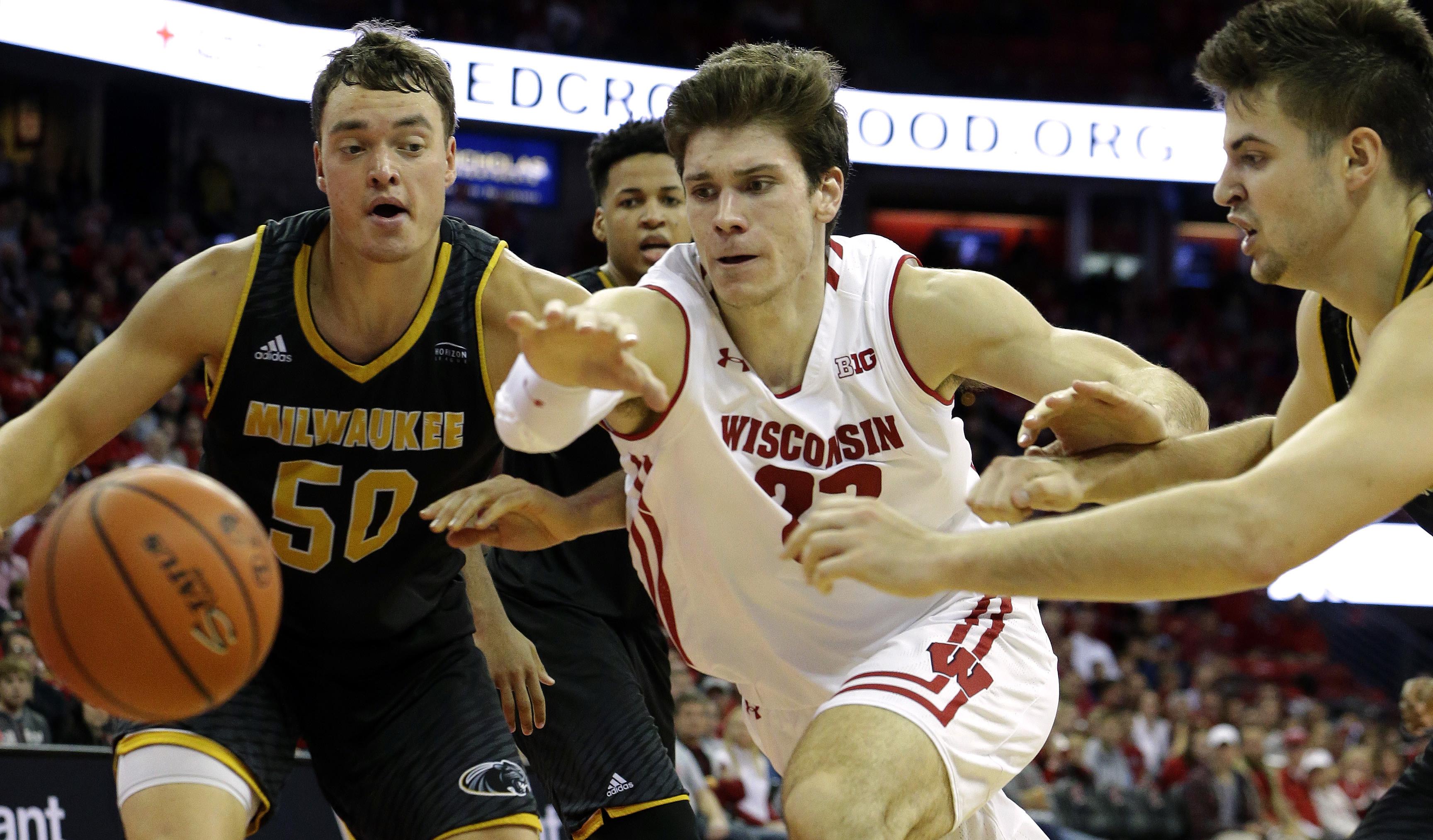 NCAA Basketball: UW-Milwaukee at Wisconsin
