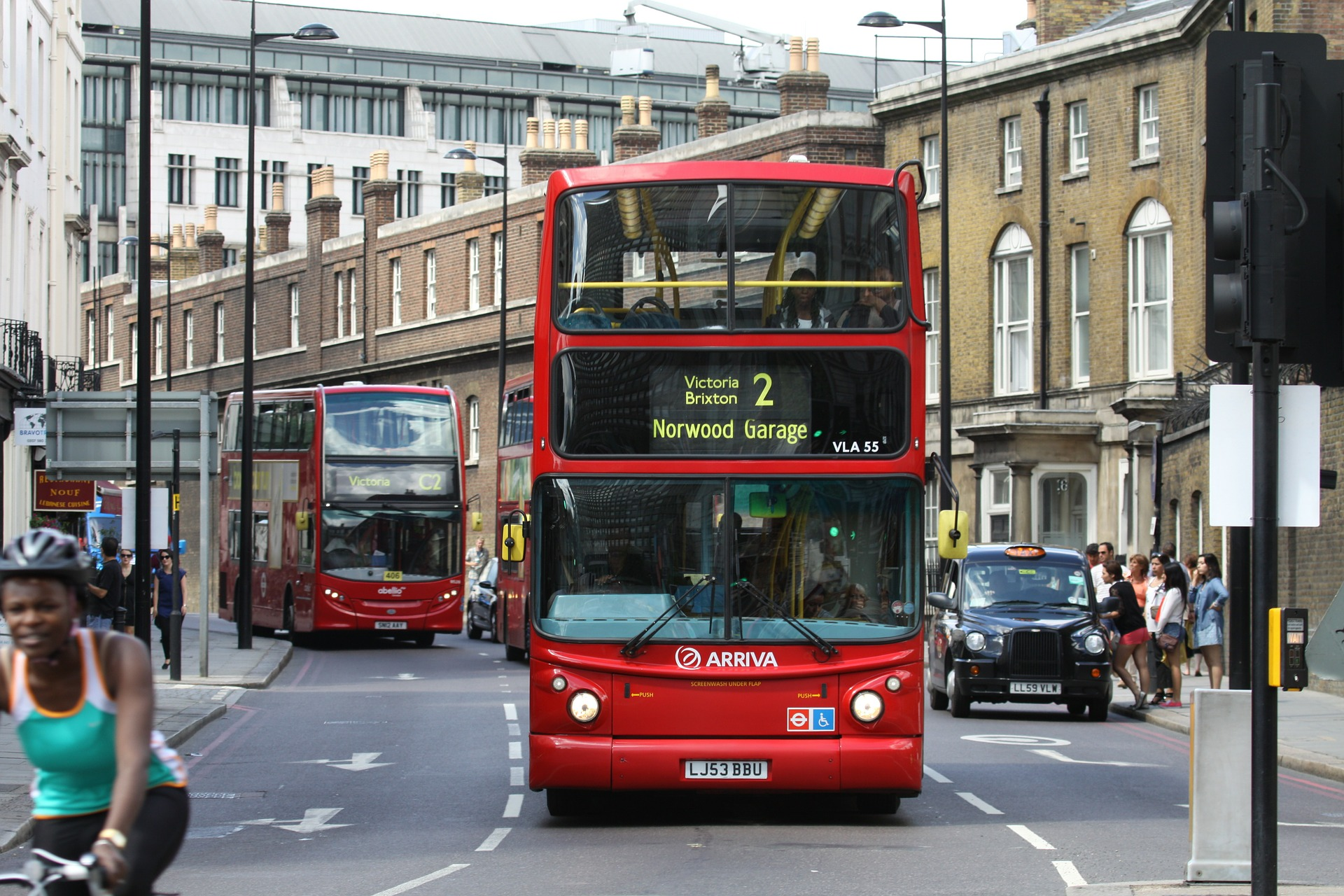 London's iconic buses are testing coffee-based biofuel