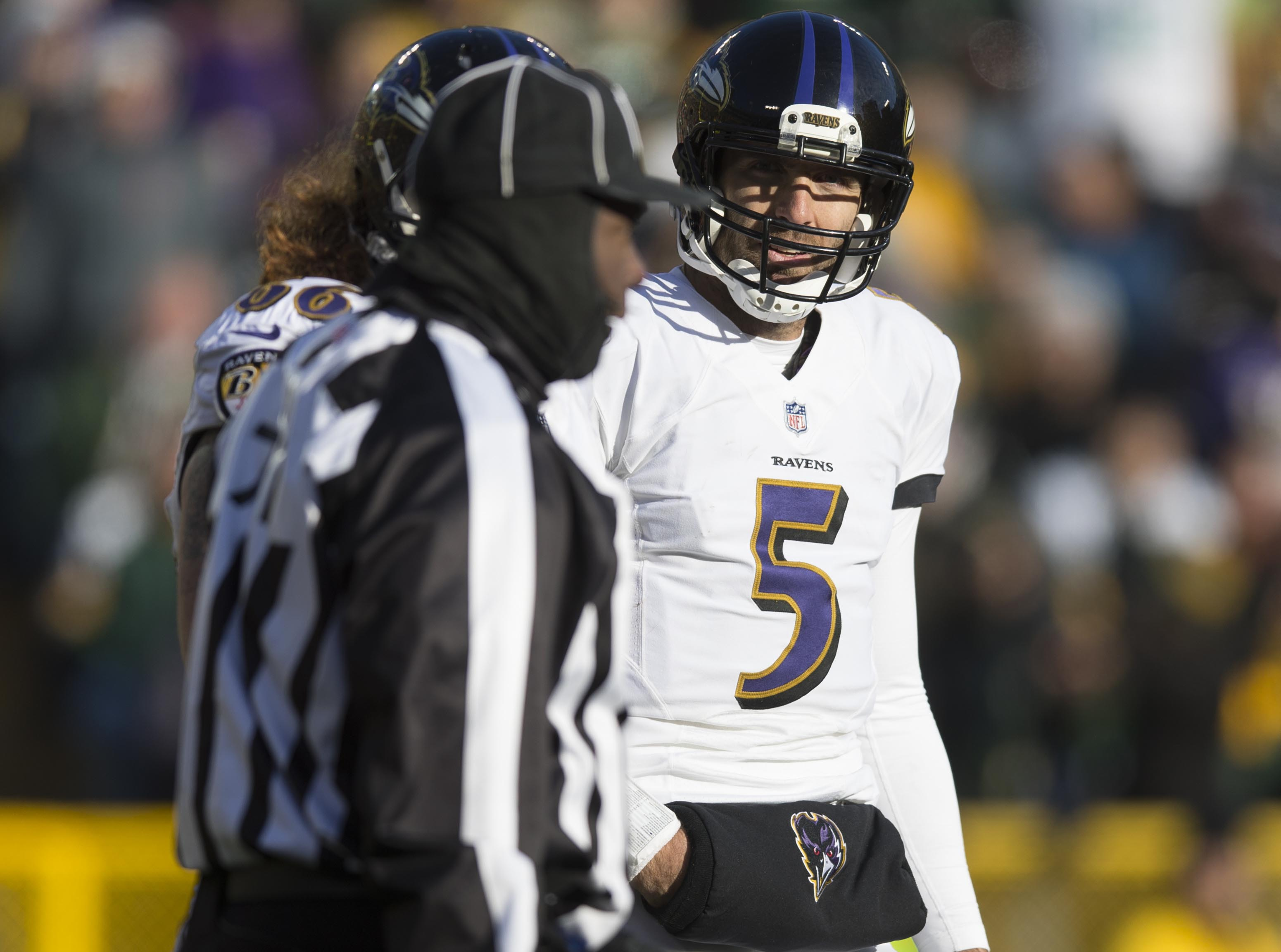 NFL: Baltimore Ravens at Green Bay Packers