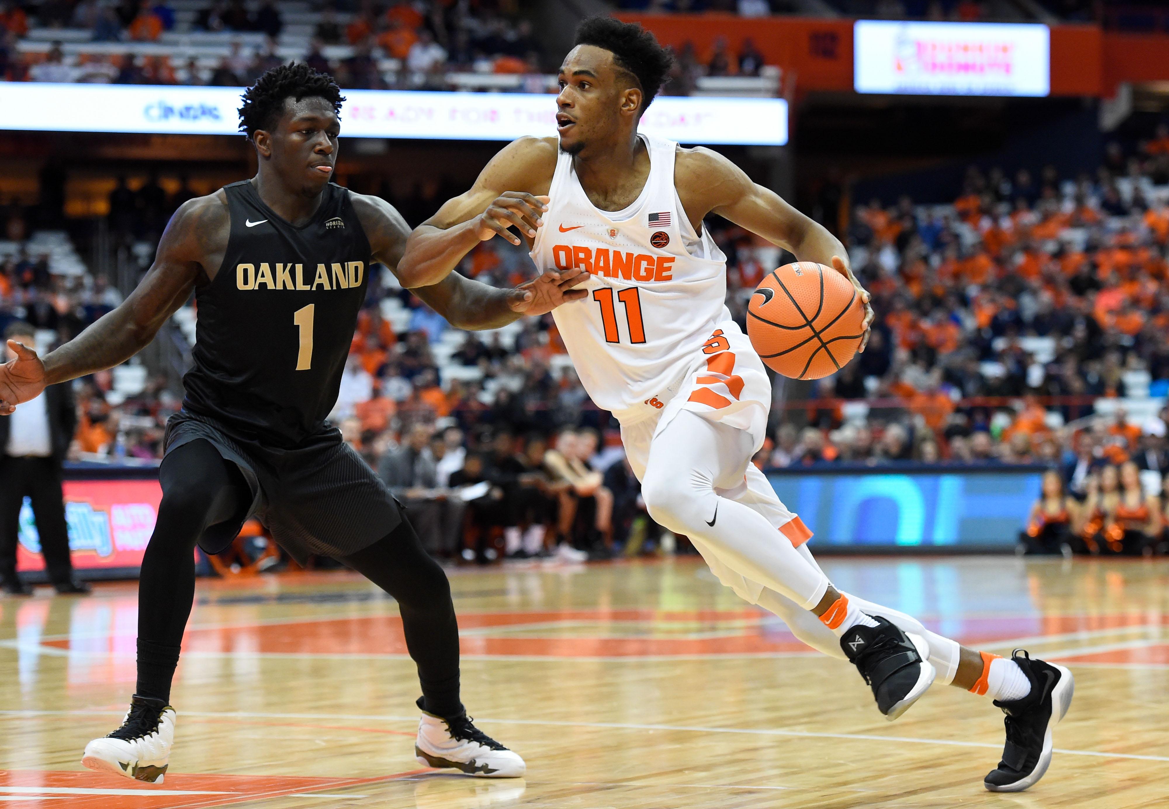 NCAA Basketball: Oakland at Syracuse