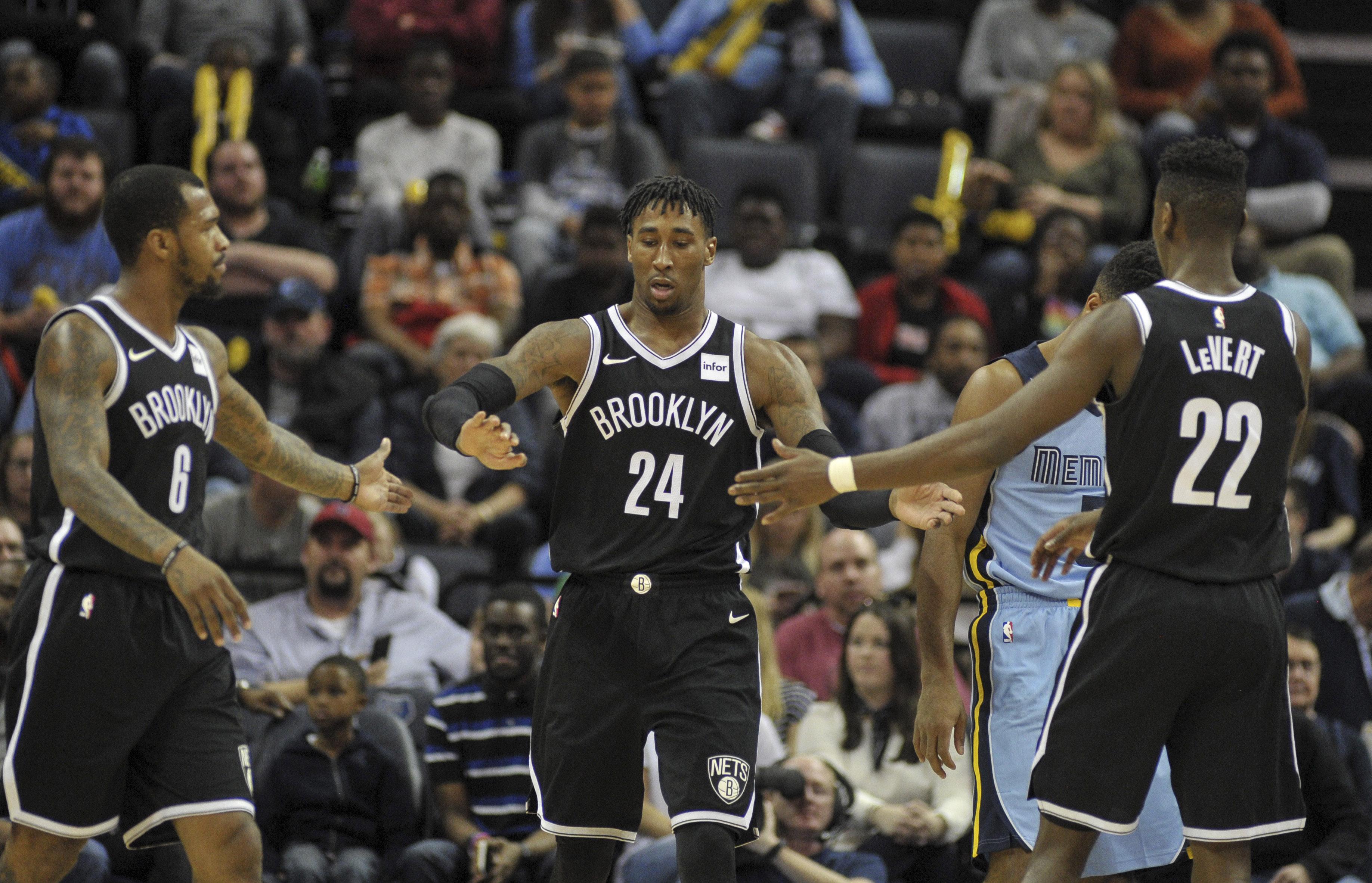 NBA: Brooklyn Nets at Memphis Grizzlies